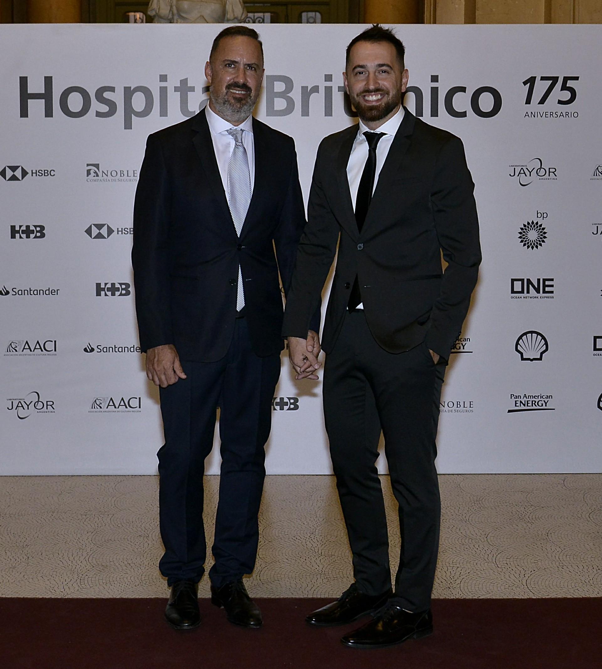 Charly Ronco y su marido Nicolás Pottery