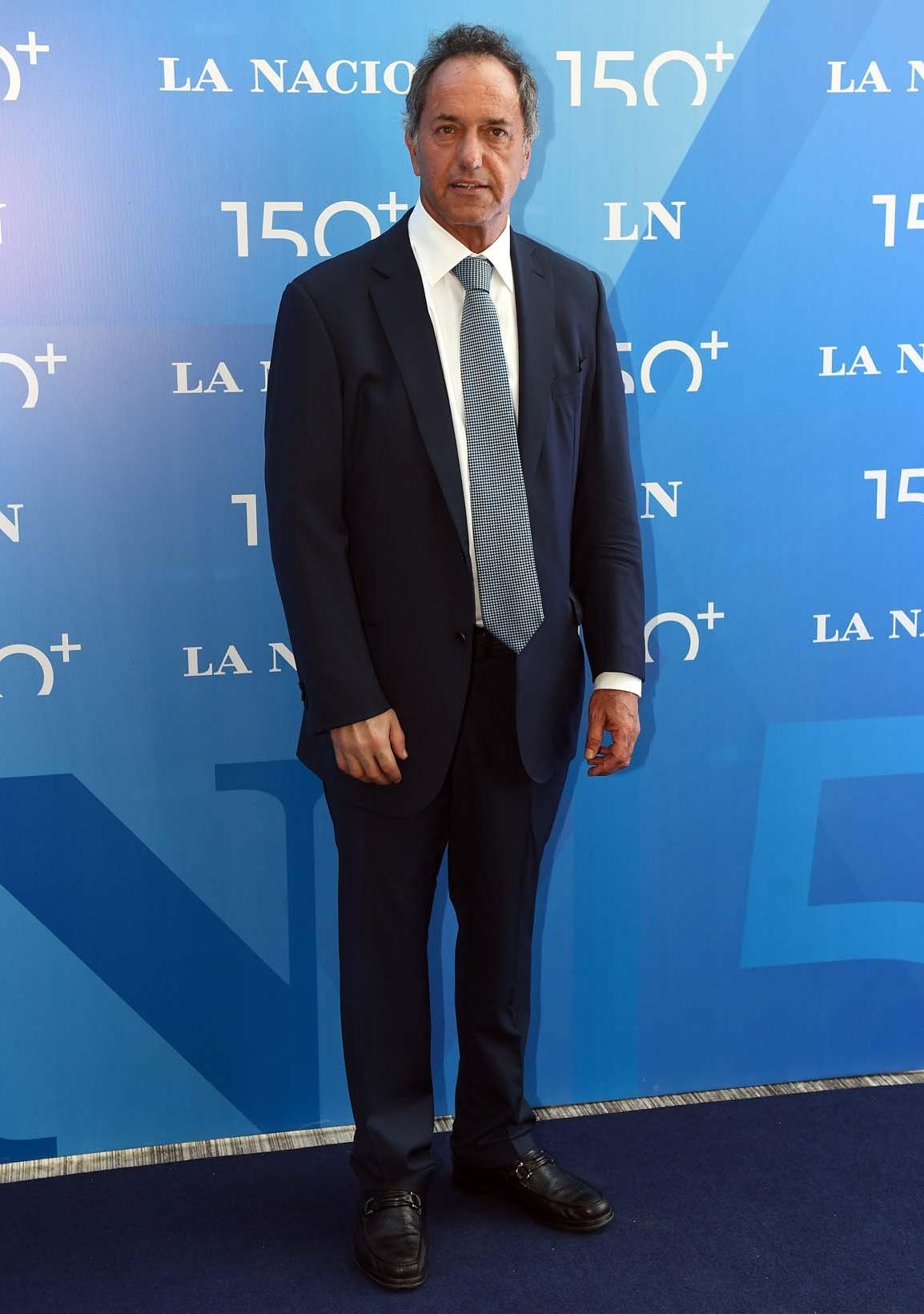 El diputado Daniel Scioli