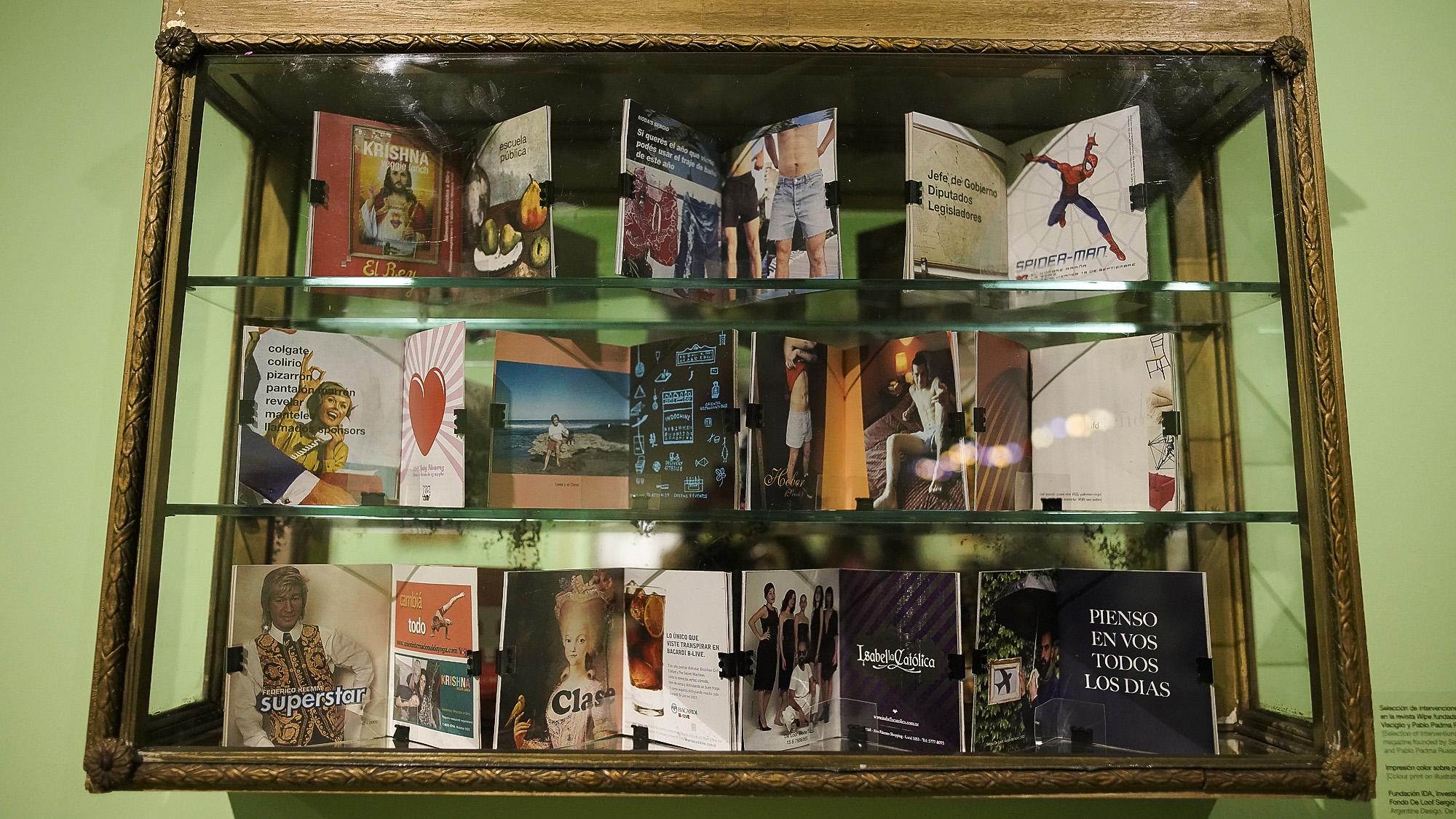 La muestra se presentó en el Museo de Arte Moderno de Buenos Aires, ubicado en Avenida San Juan 350, San Telmo