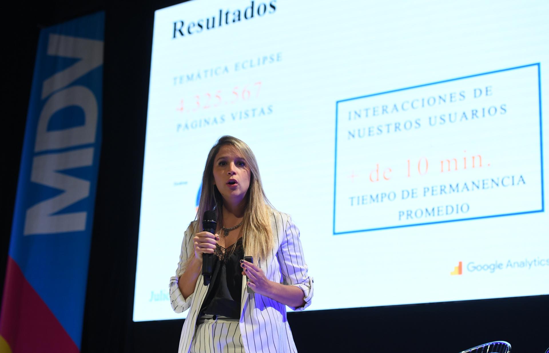 Mariana Genolet, gerente de Branded Content de Infobae