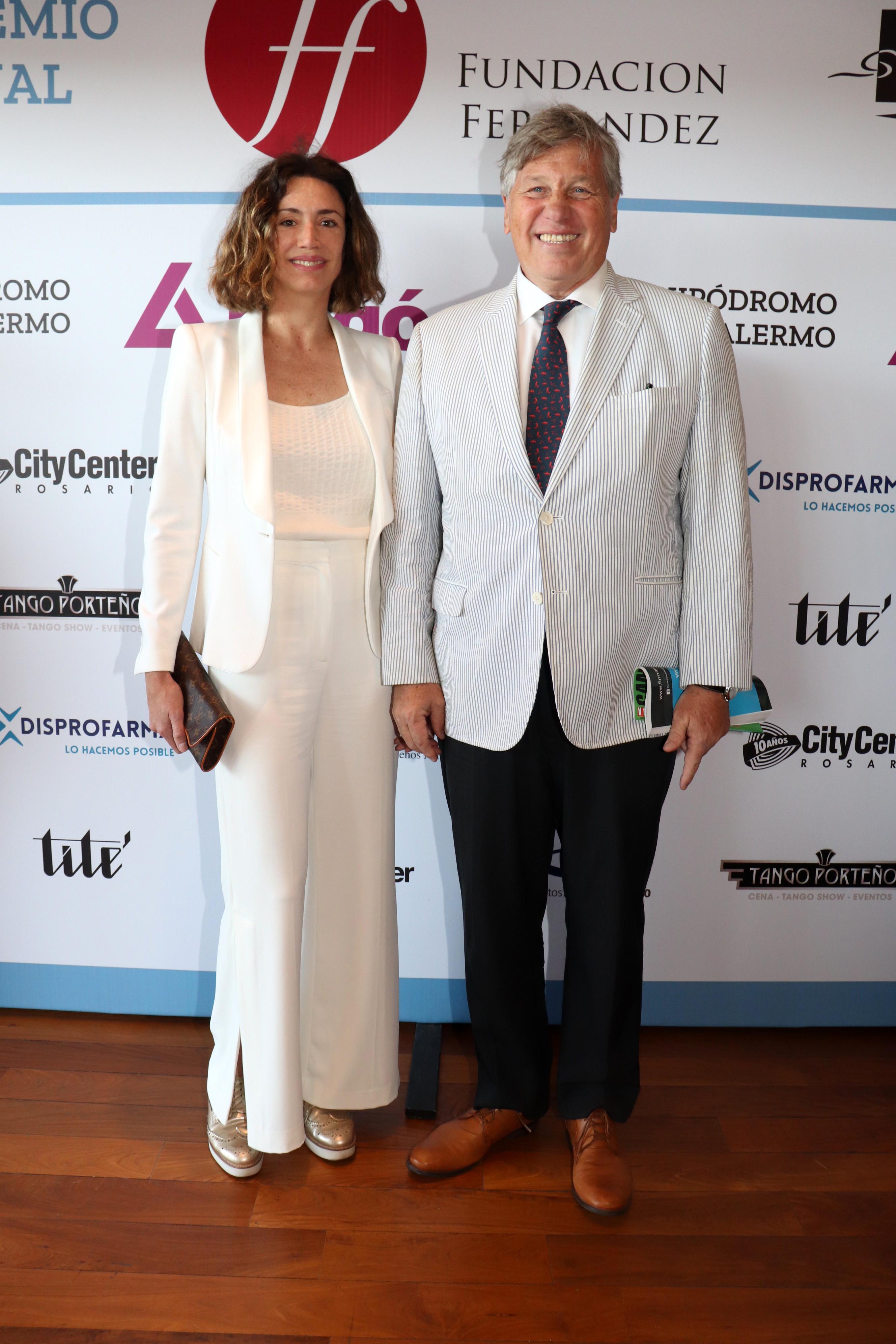 Verónica Quintana y Antonio Bullrich