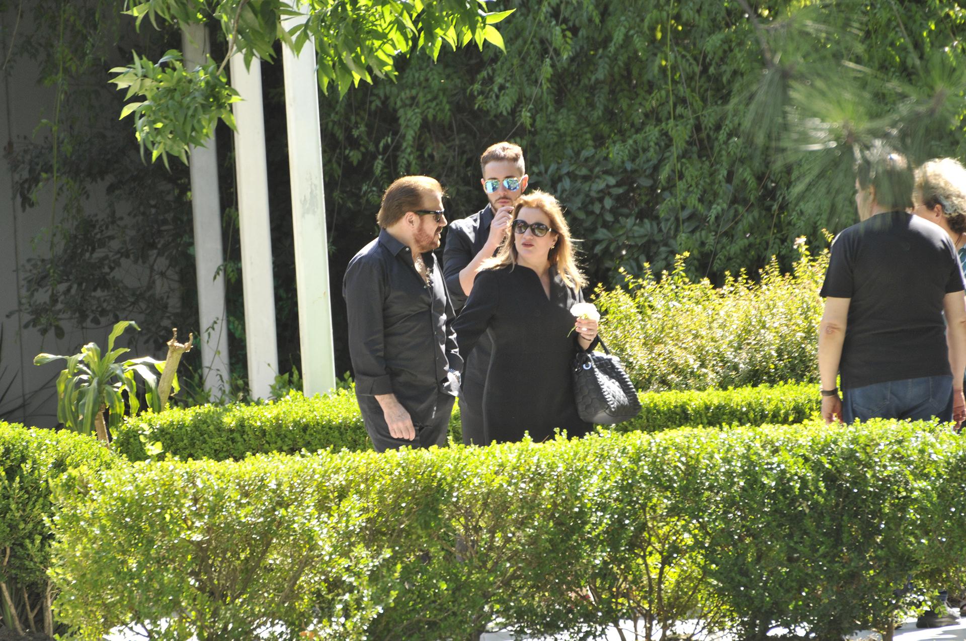 Joaquín estuvo acompañado por su esposa, Viviana, y su hijo, Francisco