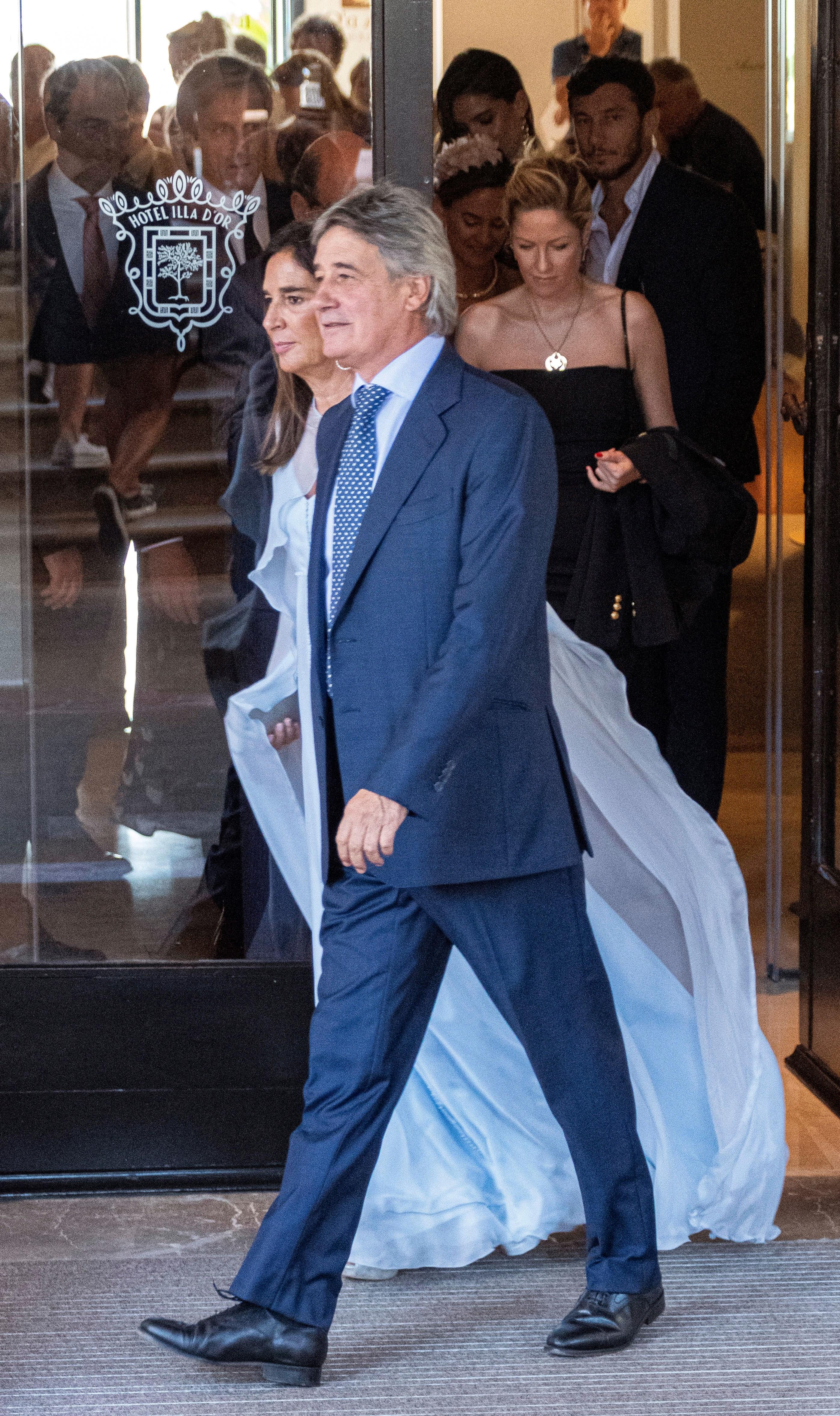 El tenista Marc López, invitado a la boda de Rafa Nadal y Mery Perelló EFE/ Cati Cladera
