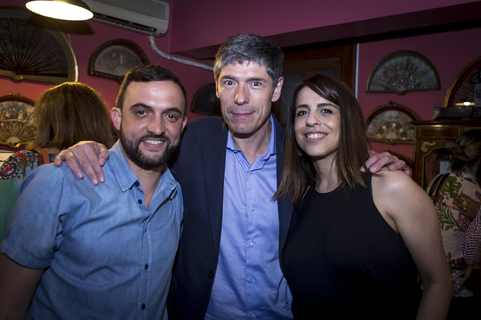 El Diputado Leo Grosso y el politólogo Juan Abal Medina hicieron su aporte a la Fundación