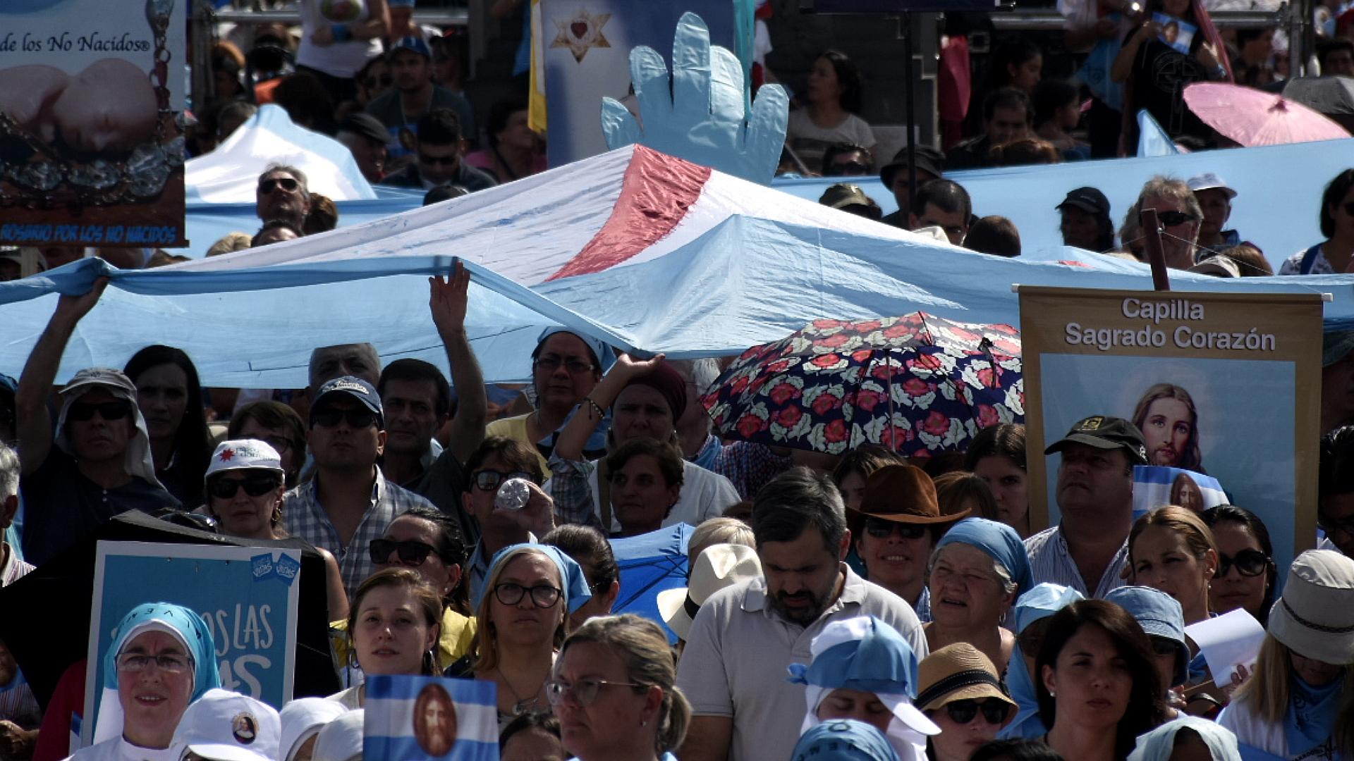 Misa en Luján por las Mujeres y por la Vida y en rechazo a la legalización del aborto - 8 de Marzo