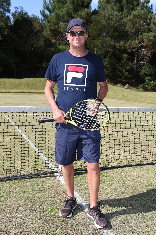 Martín Jaite fue el conductor del torneo de tenis Pro Am
