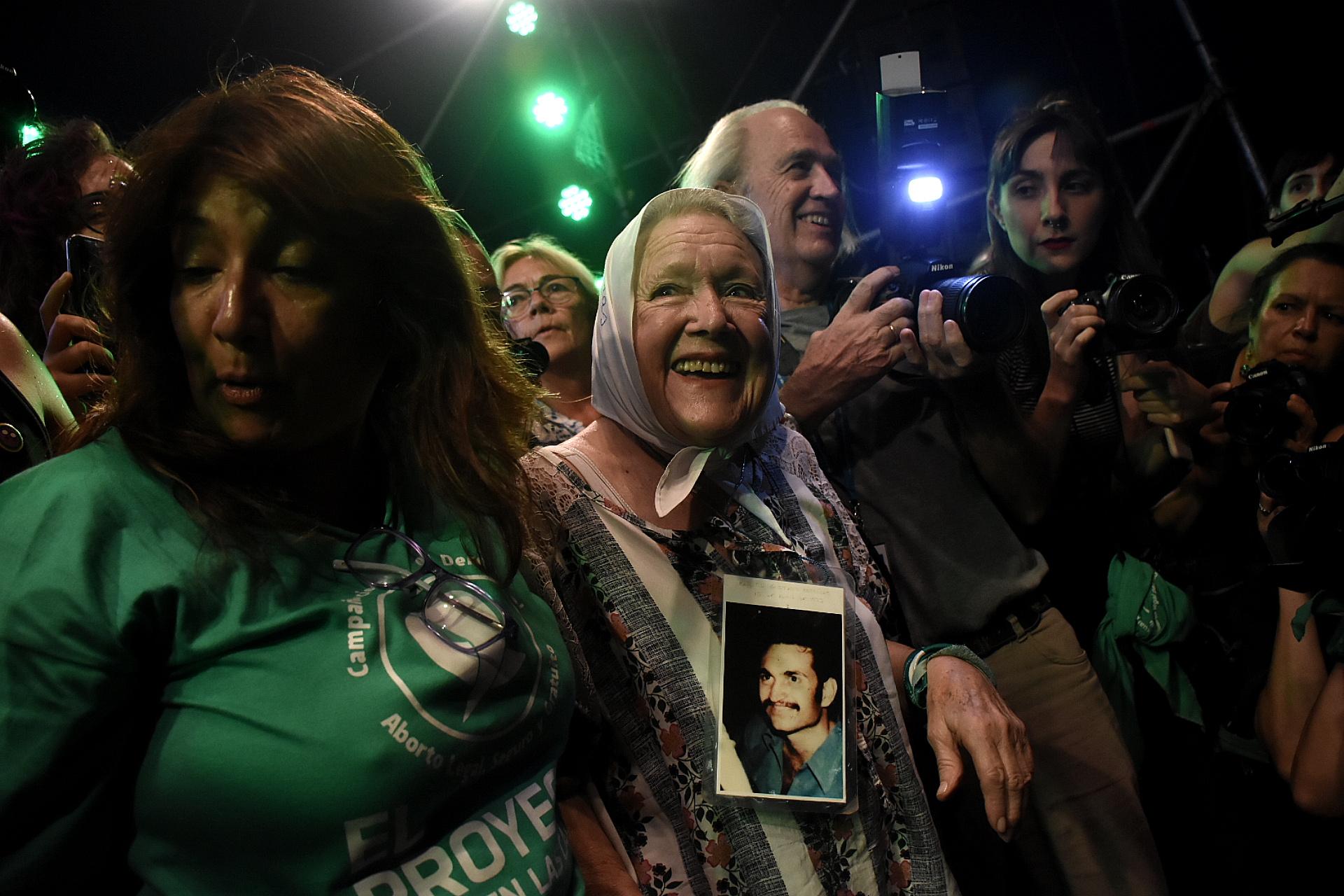 La abuela de Plaza de Mayo Nora Cortiñas