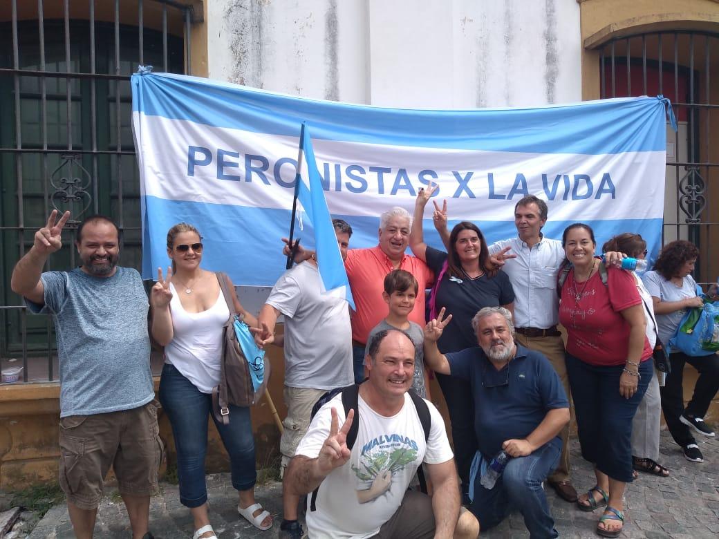 En el centro, Julio Piumato, secretario general de la Unión de Empleados Judiciales de la Nación