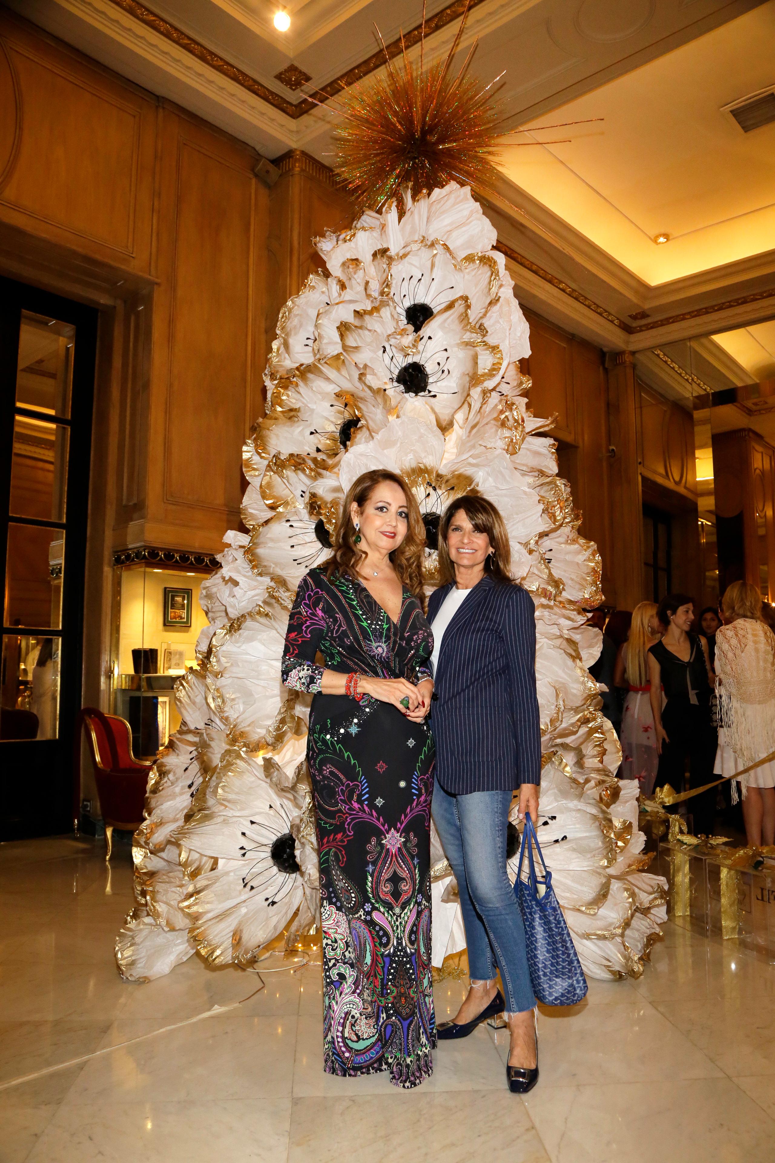 Mónica Parisier y Teresa Calandra