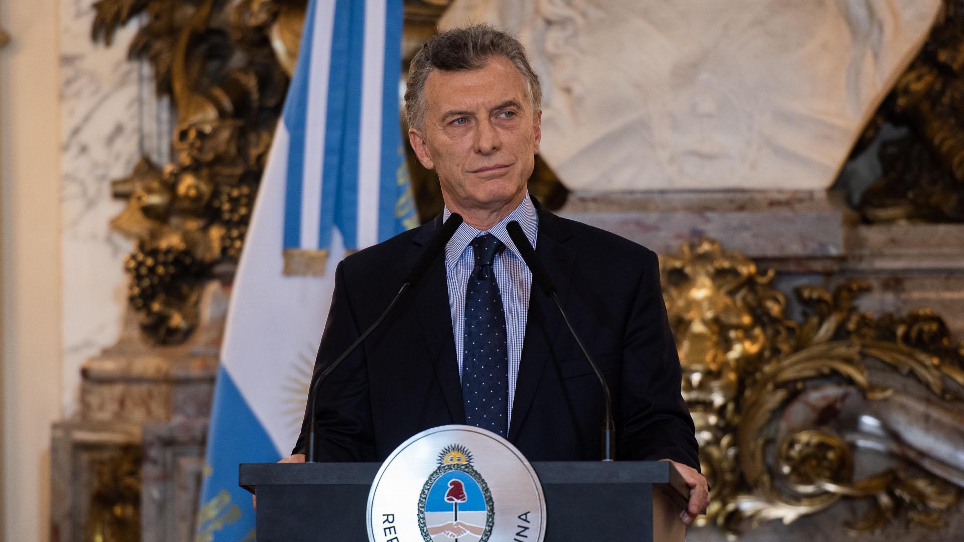 Mauricio Macri (Adrián Escandar)