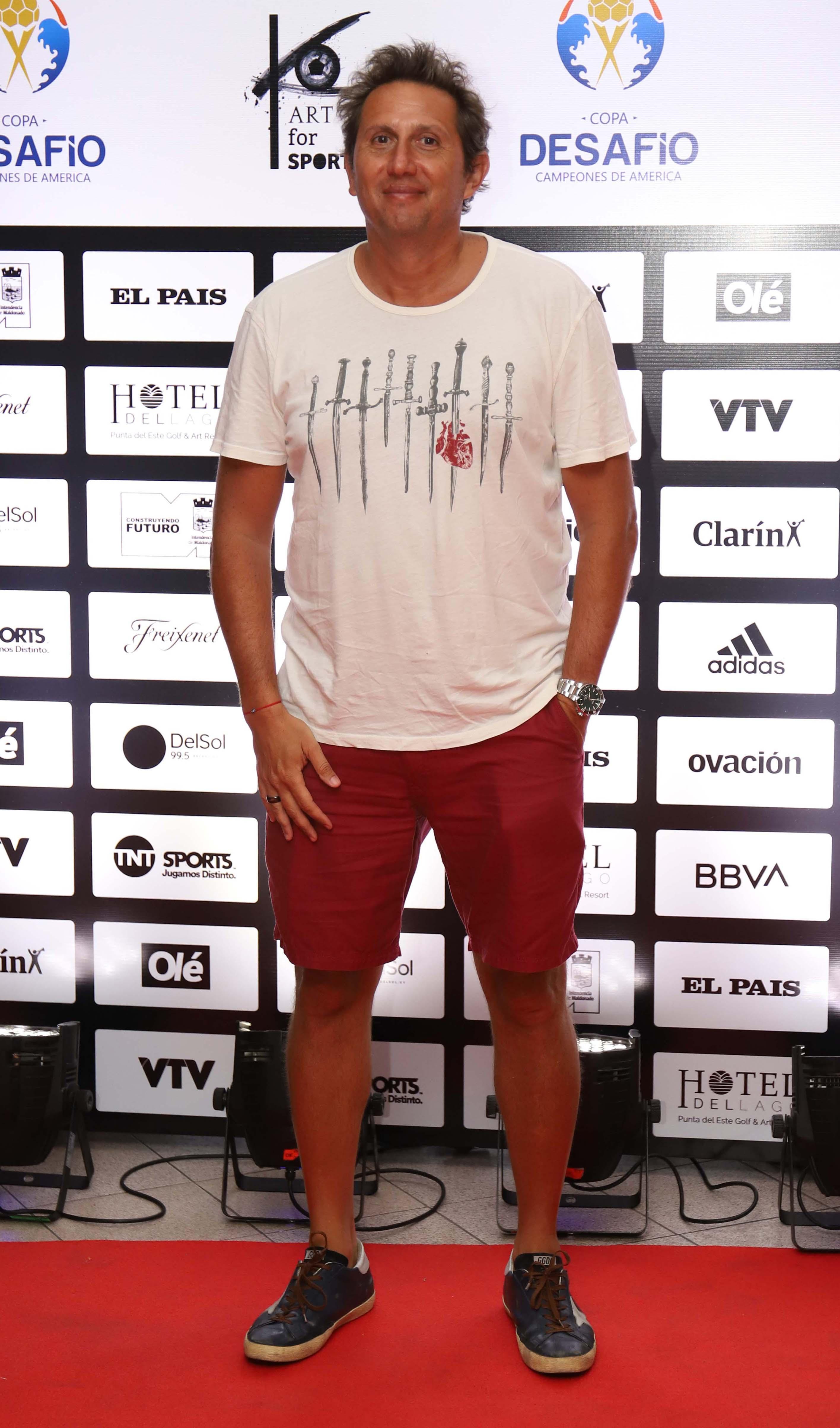 Juan Pablo Varsky en la cancha