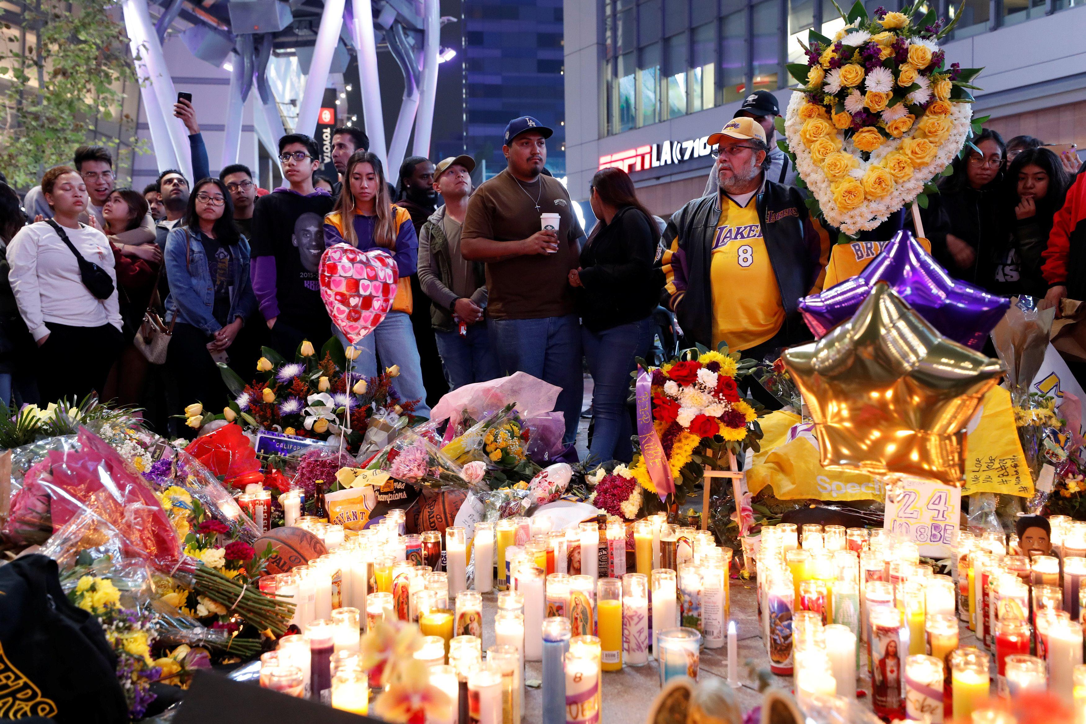La Policía de Los Ángeles tiene identificadas a todas las víctimas que murieron este domingo junto a la ex estrella de la NBA Kobe Bryant