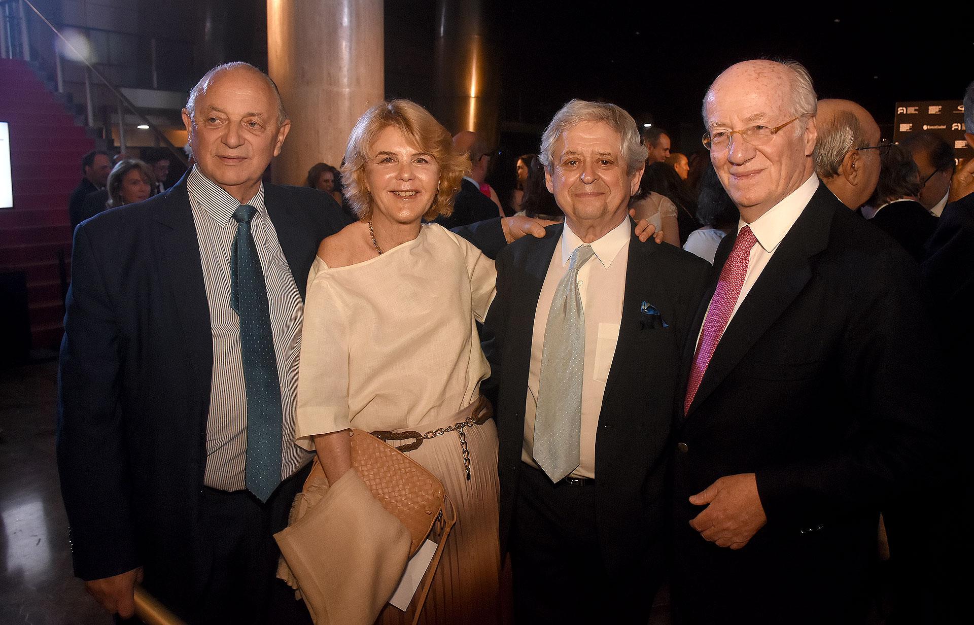 Mauricio Wainrot, Magdalena Cordero y Paolo Rocca