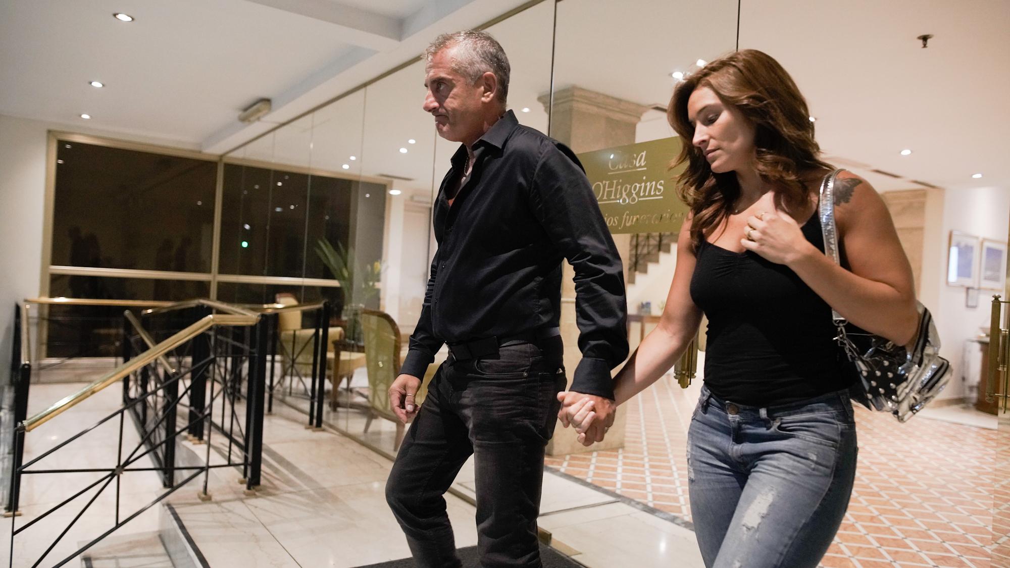 Omar Suárez y Denise Cerrone