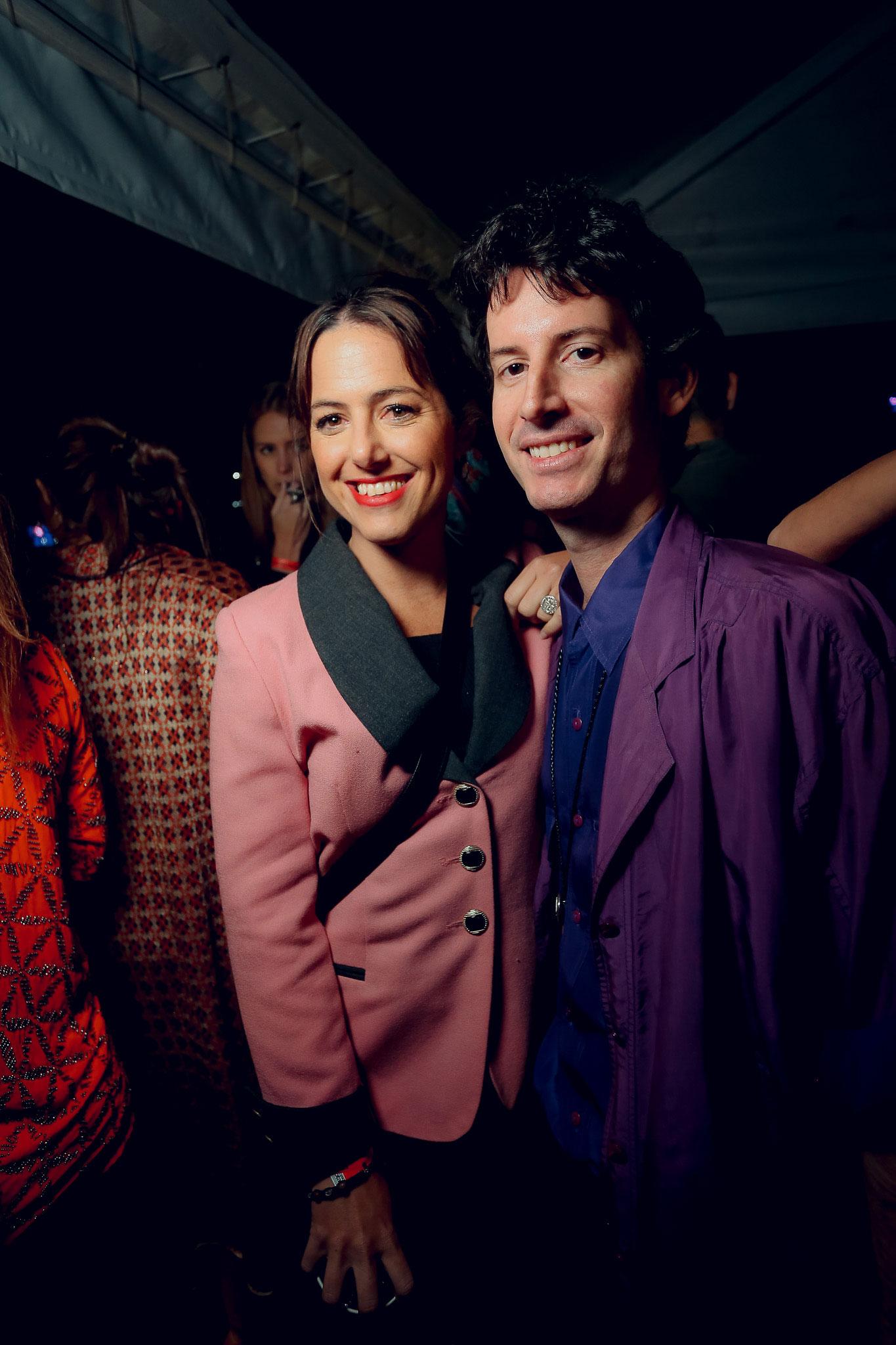 Carolina Caride y Juan Pedro Tombeur