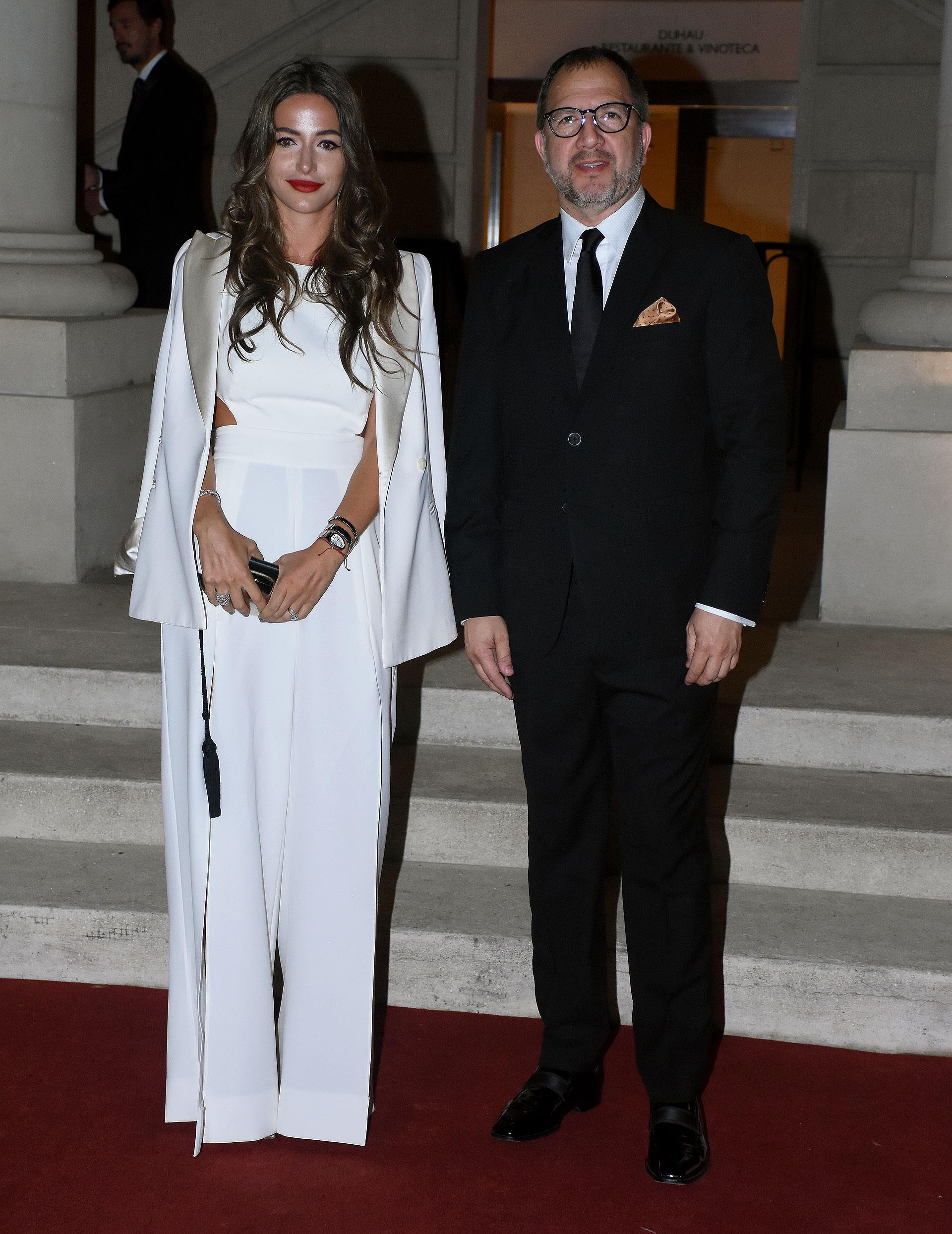 Camila Pitana de Filiberti y Fabián Perechodnik