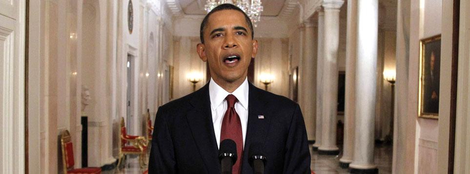 El 1 de mayo de 2011, Barack Obama anunció al mundo la muerte de Osama bin Laden (Reuters)