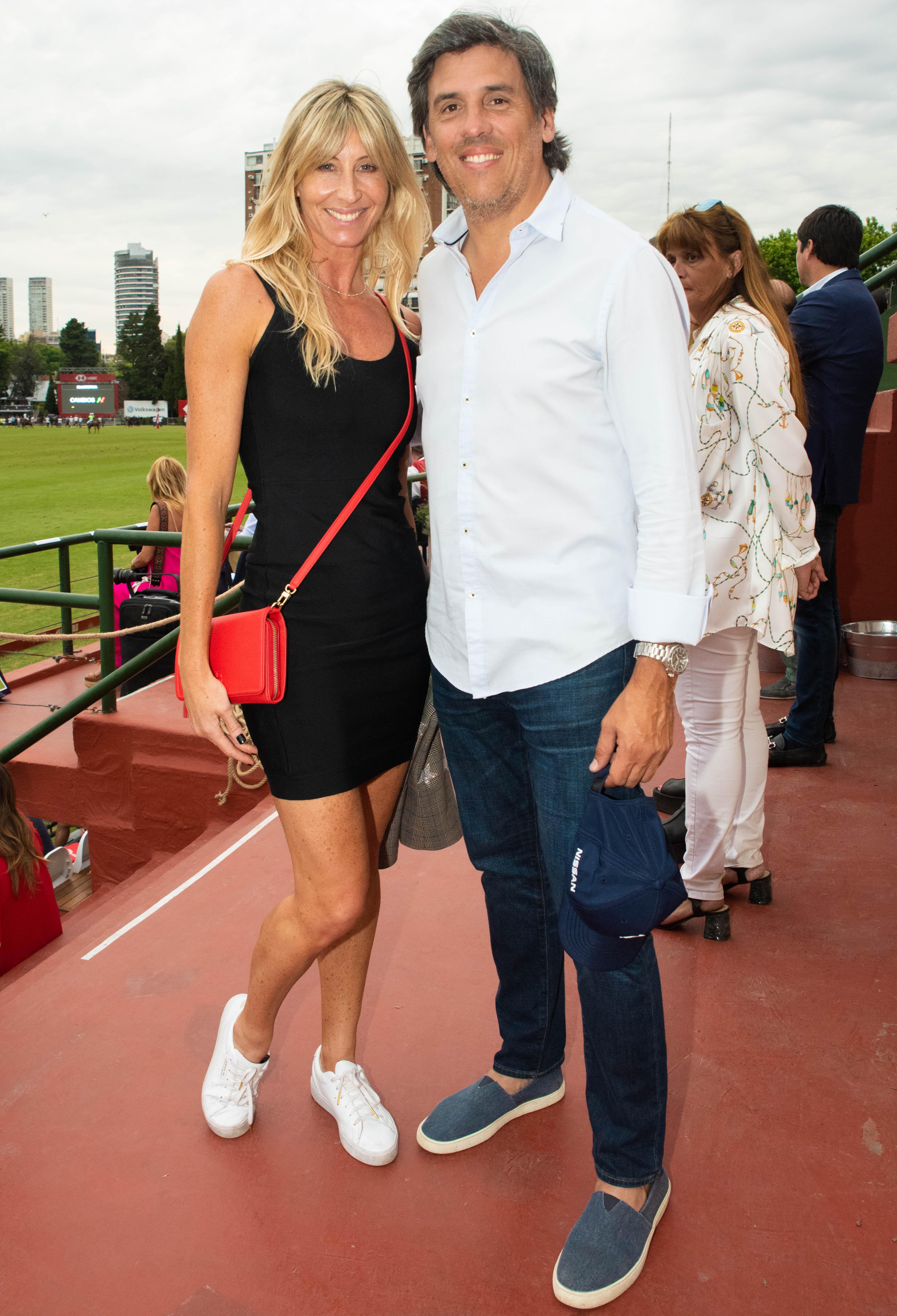 Soledad Solaro y Eduardo Boccardo