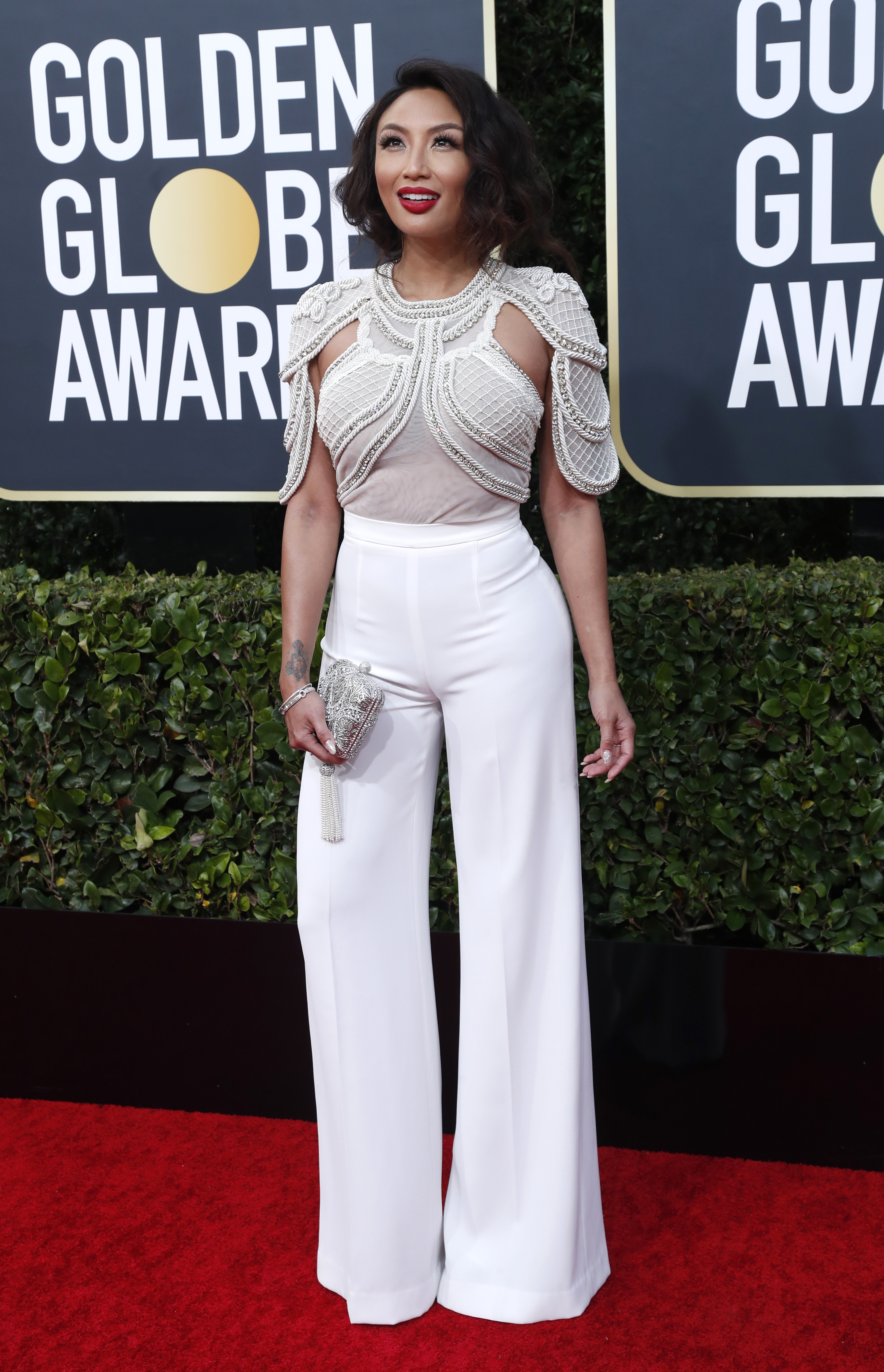 77th Golden Globe Awards - Arrivals - Beverly Hills, California, U.S., January 5, 2020 - Jeannie Mai. REUTERS/Mario Anzuoni