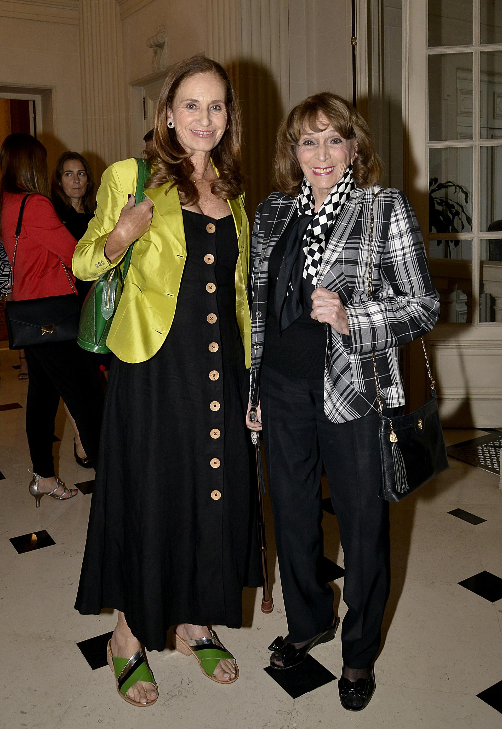 Magdalena Ruiz Guiñazú y su hija Paula Doretti