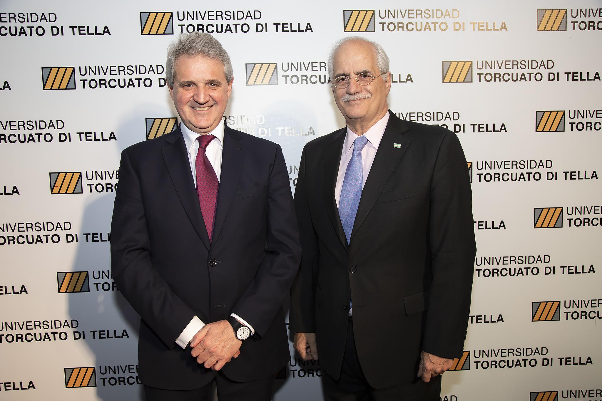 Juan José Cruces y Jorge Taiana