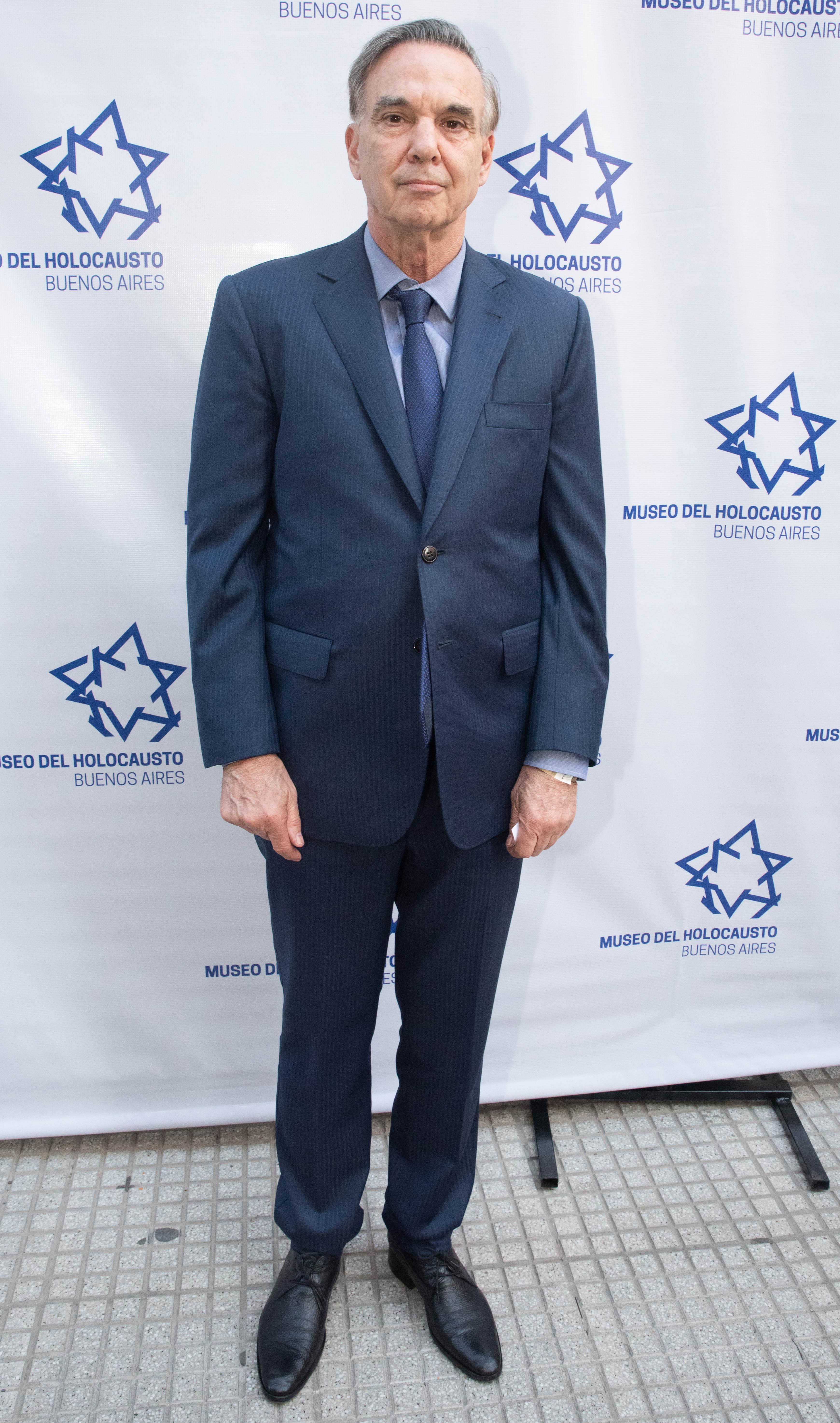 El senador Miguel Angel Pichetto