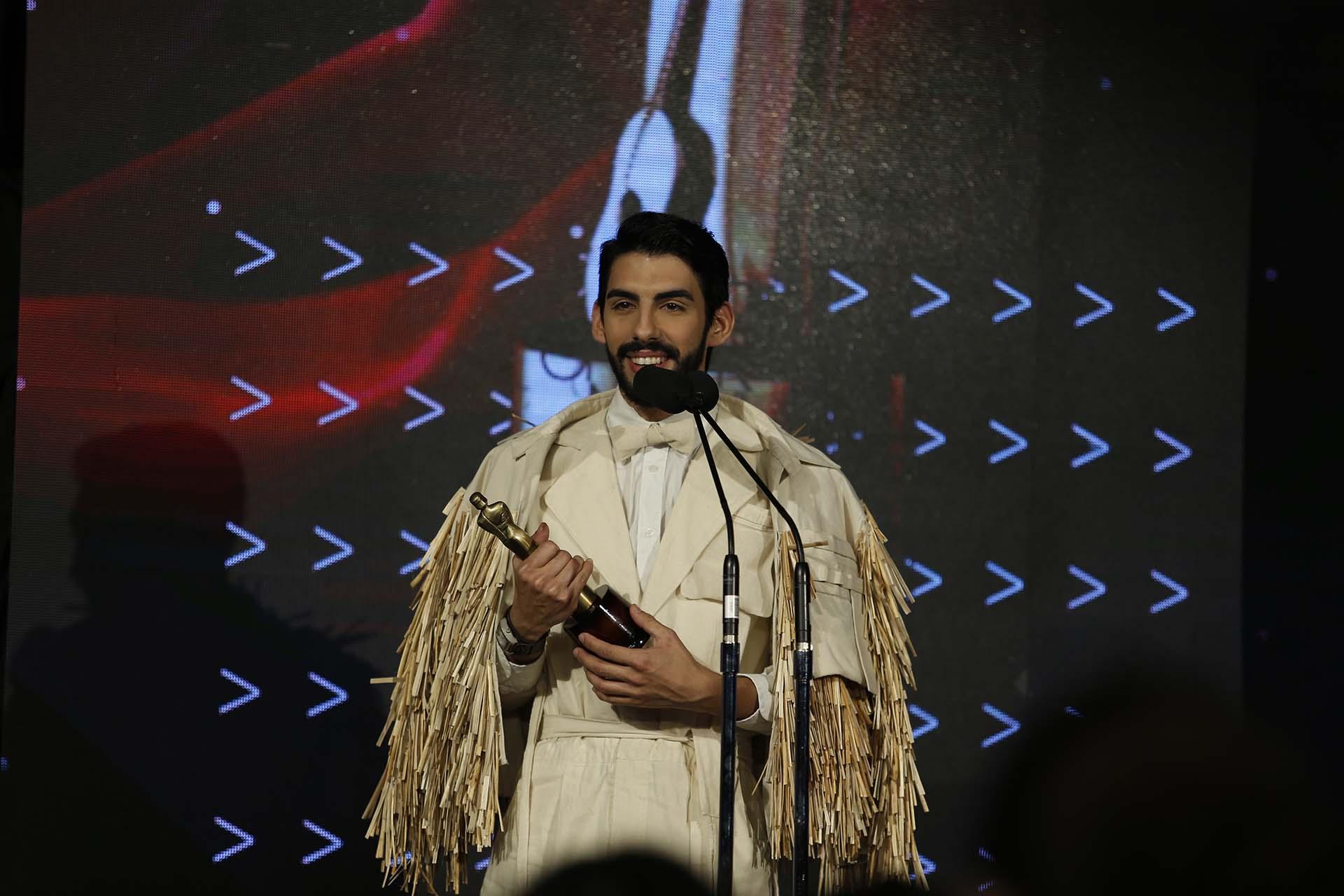 Mauro Pesoa se llevó el premio como Nuevo Talento