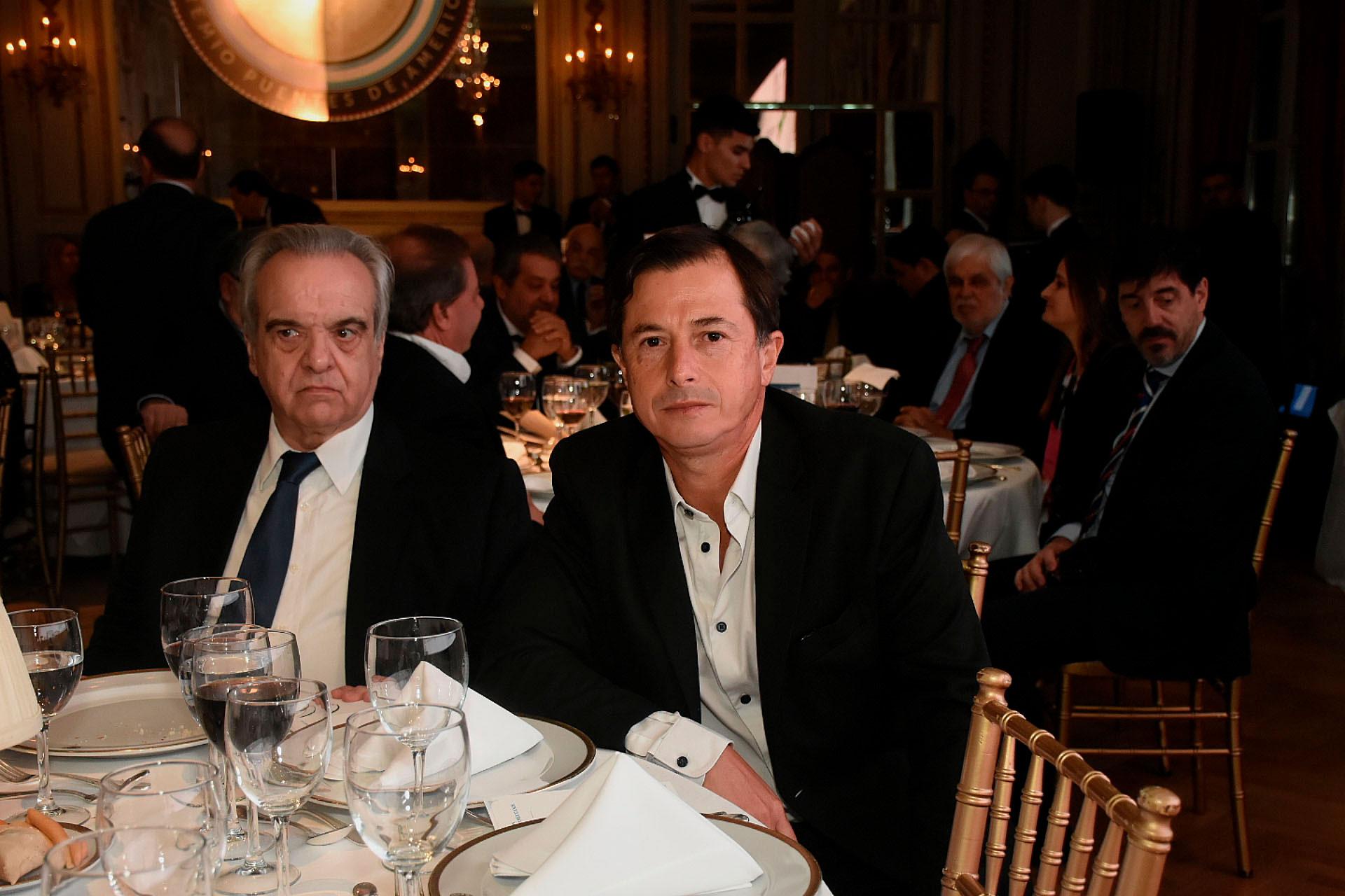 Rafael Pascual y el diputado Lipovesky