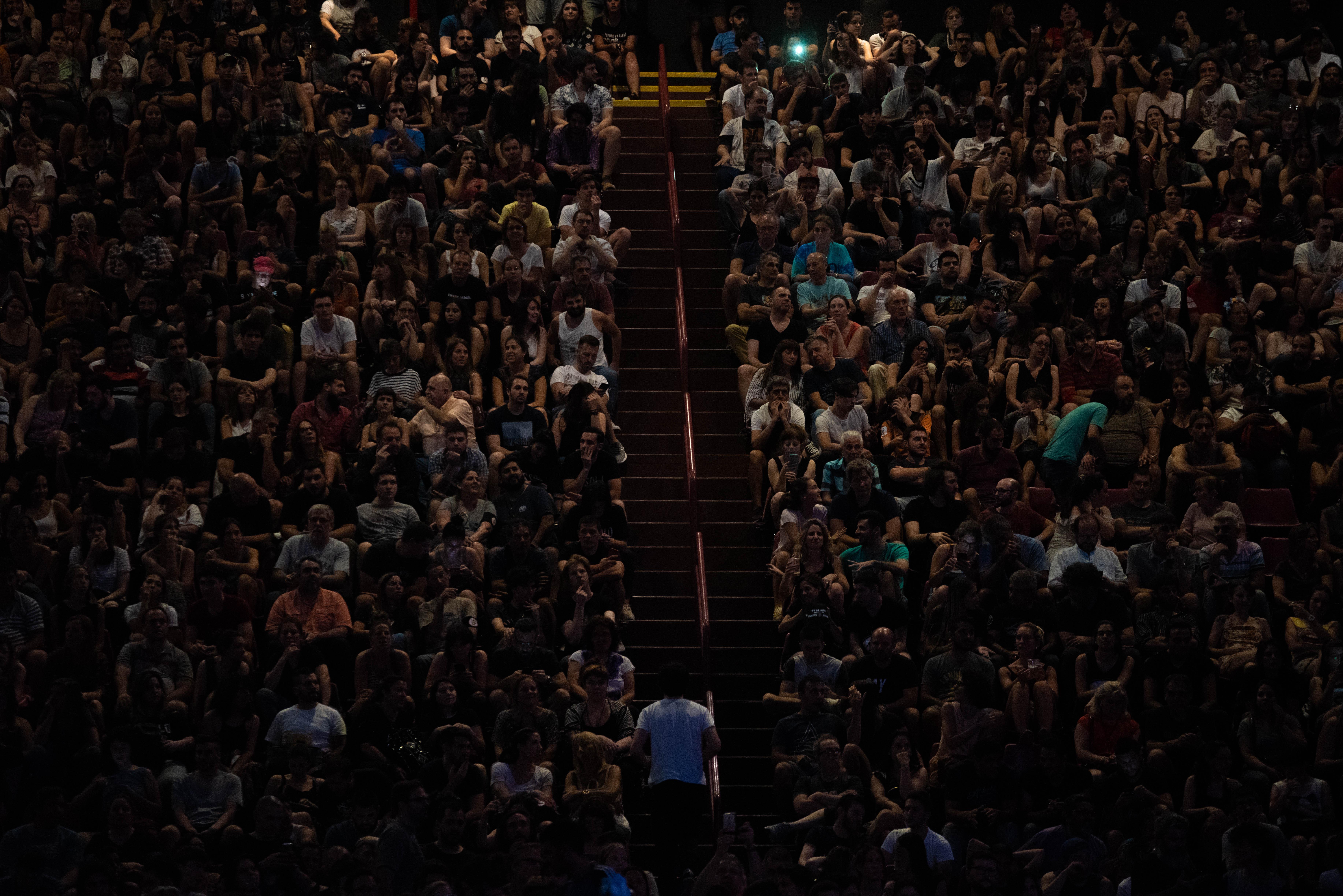 En la previa del recital de Charly García en el Luna Park, se cantó