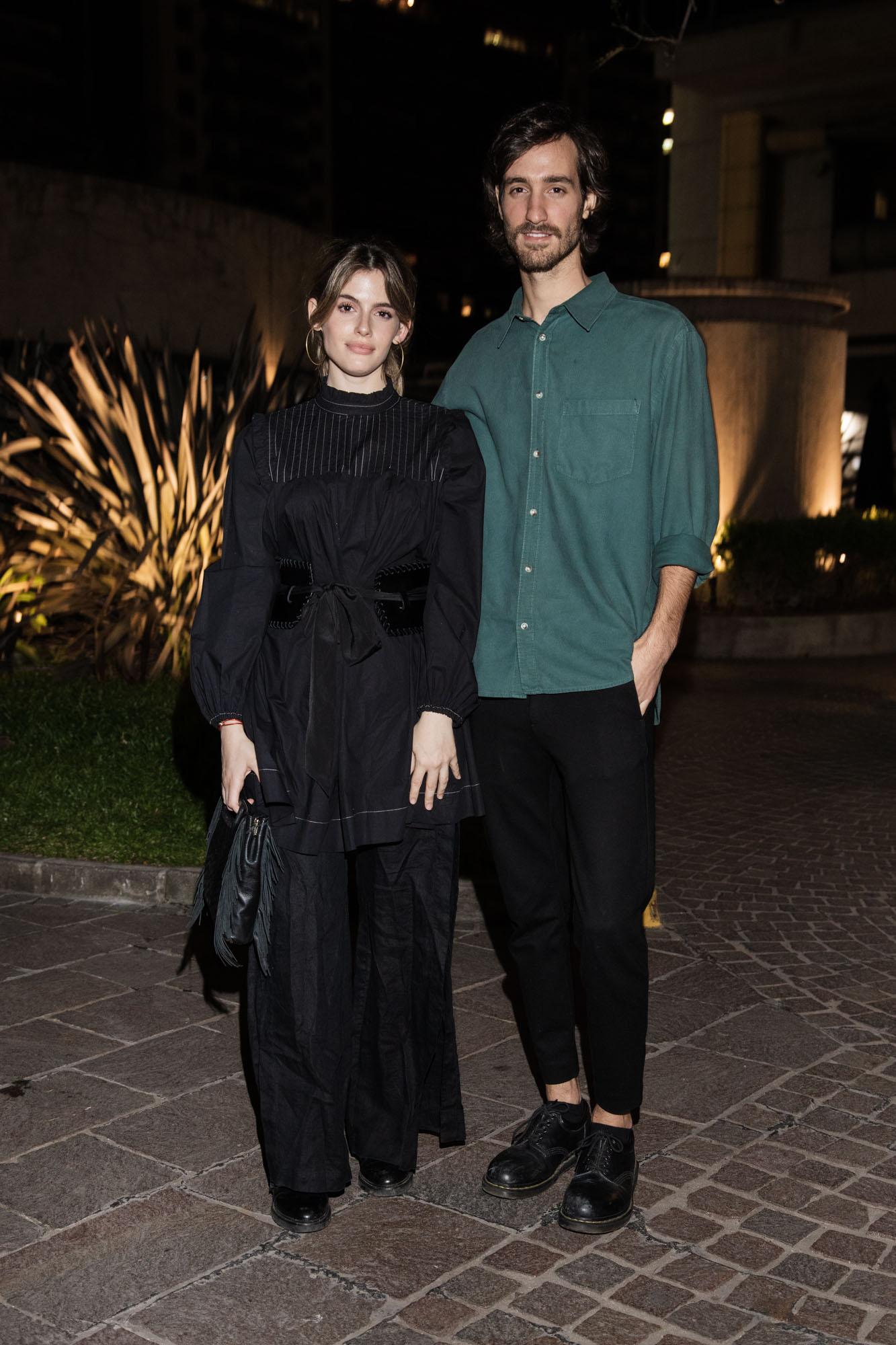 Chiara Parravicini y Jerónimo Tanoira