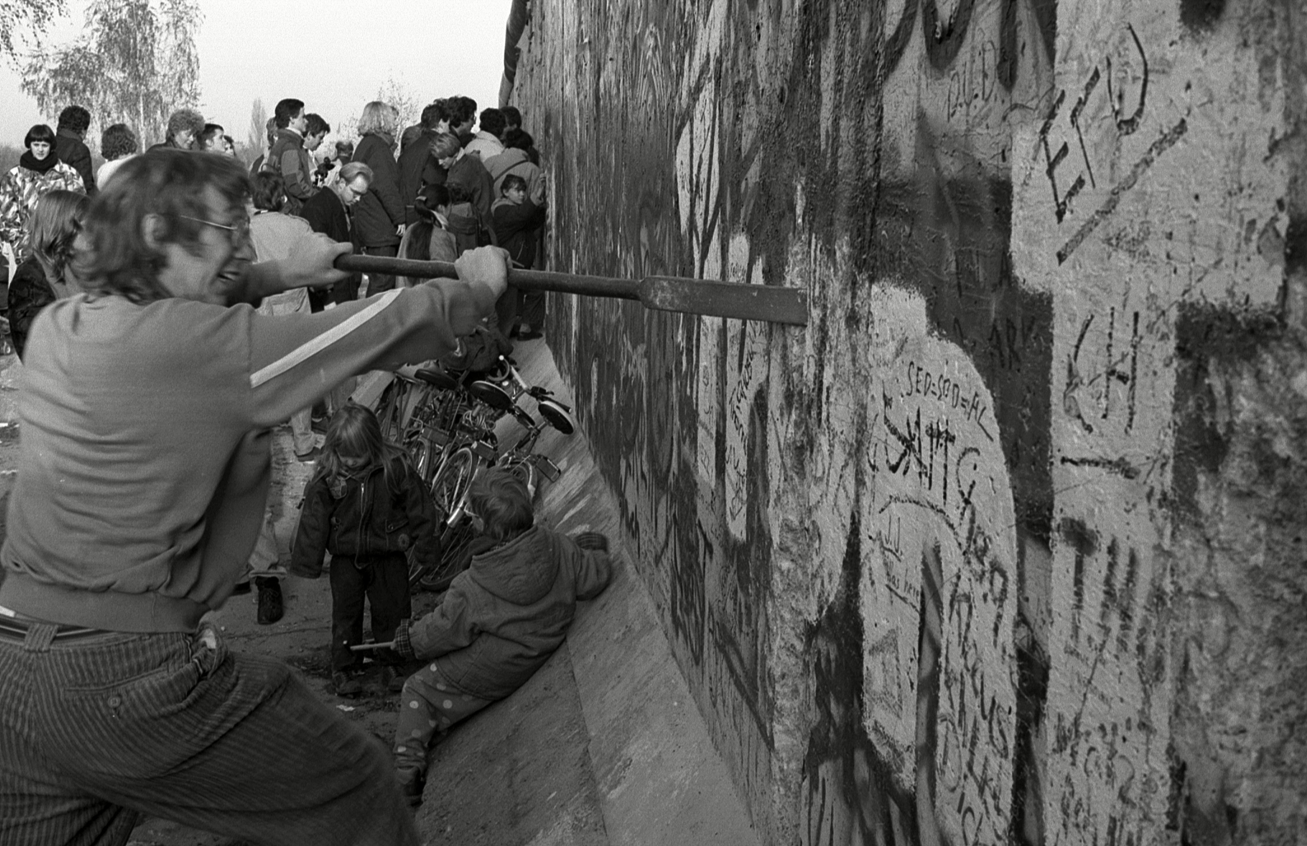 Mandatory Credit: Photo by Jochen Tack/imageBROKER/Shutterstock (4693796a) Fall of the Berlin Wall, Berlin, Germany, Europe VARIOUS