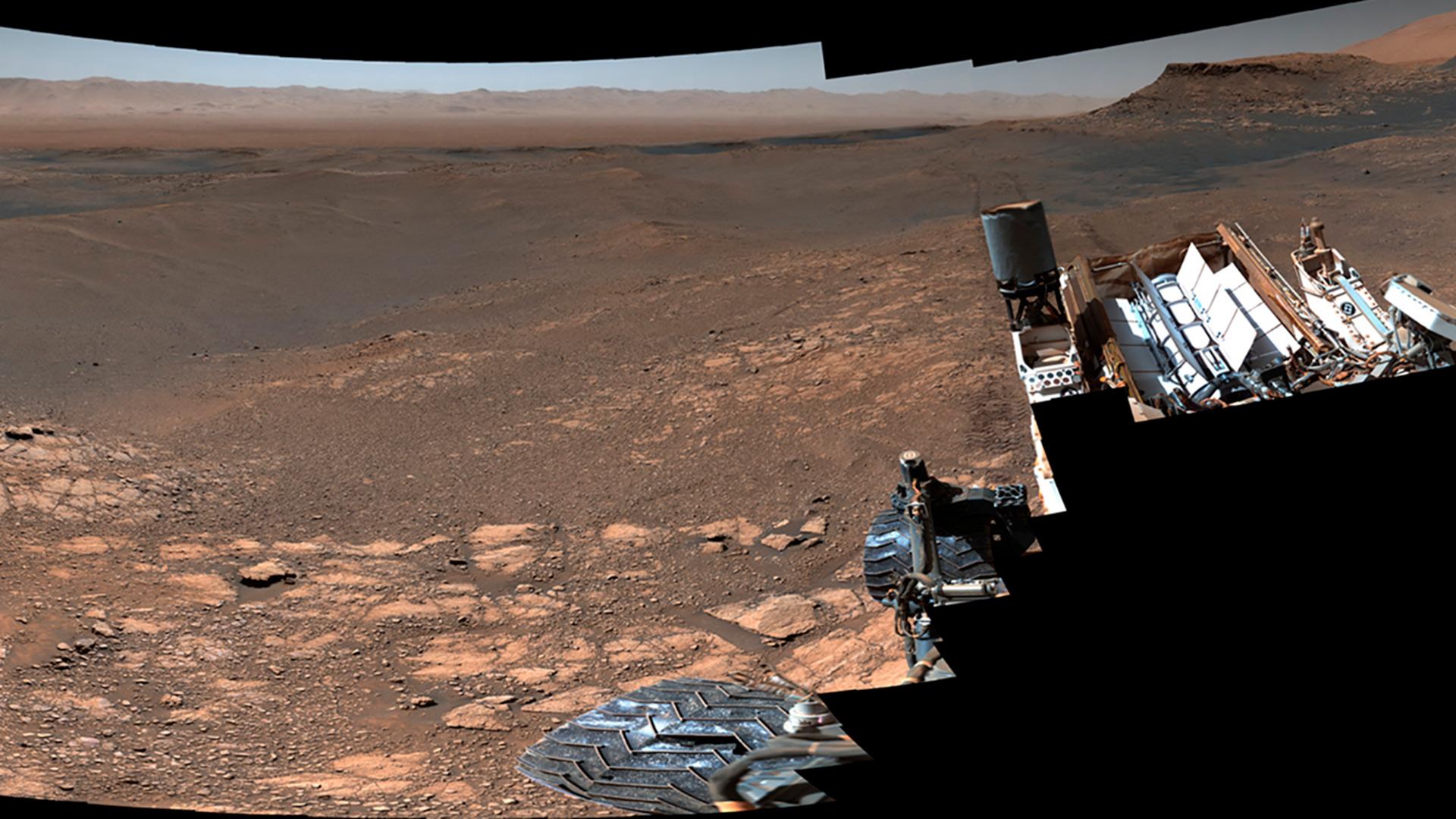 La NASA difundió una imagen de Marte con 1.800 millones de píxeles - Infobae