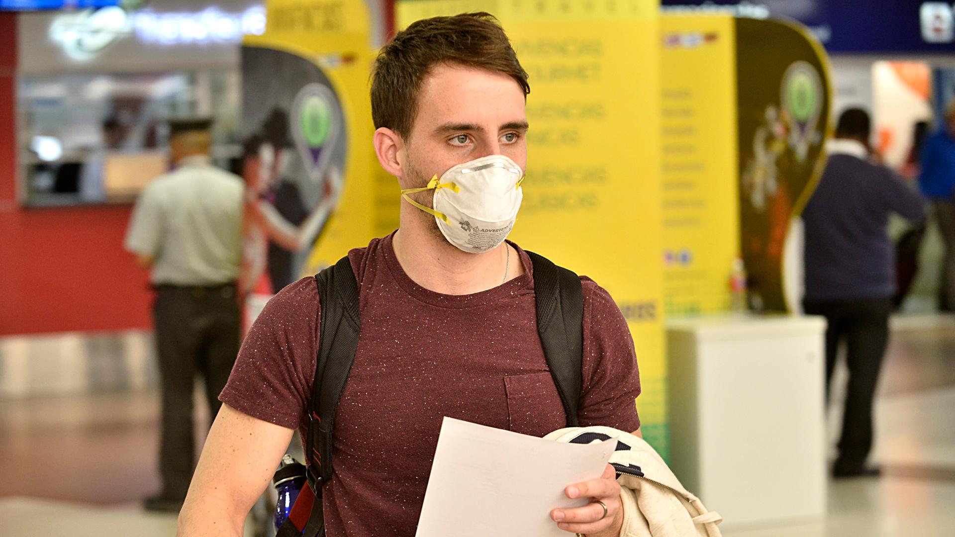 Ante el temor del arribo del coronavirus al país, se disparó la ...