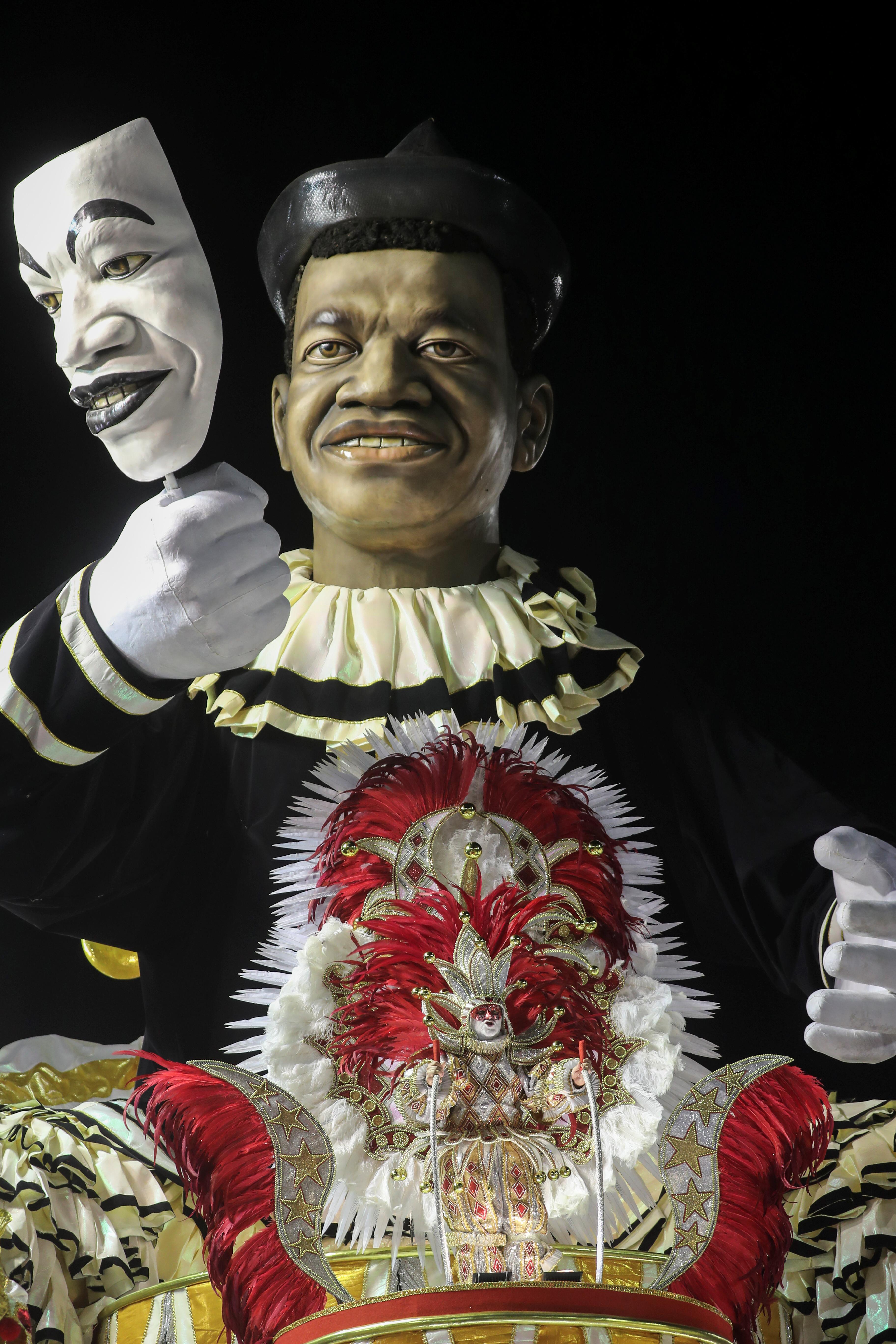 Salgueiro samba school . REUTERS/Sergio Moraes