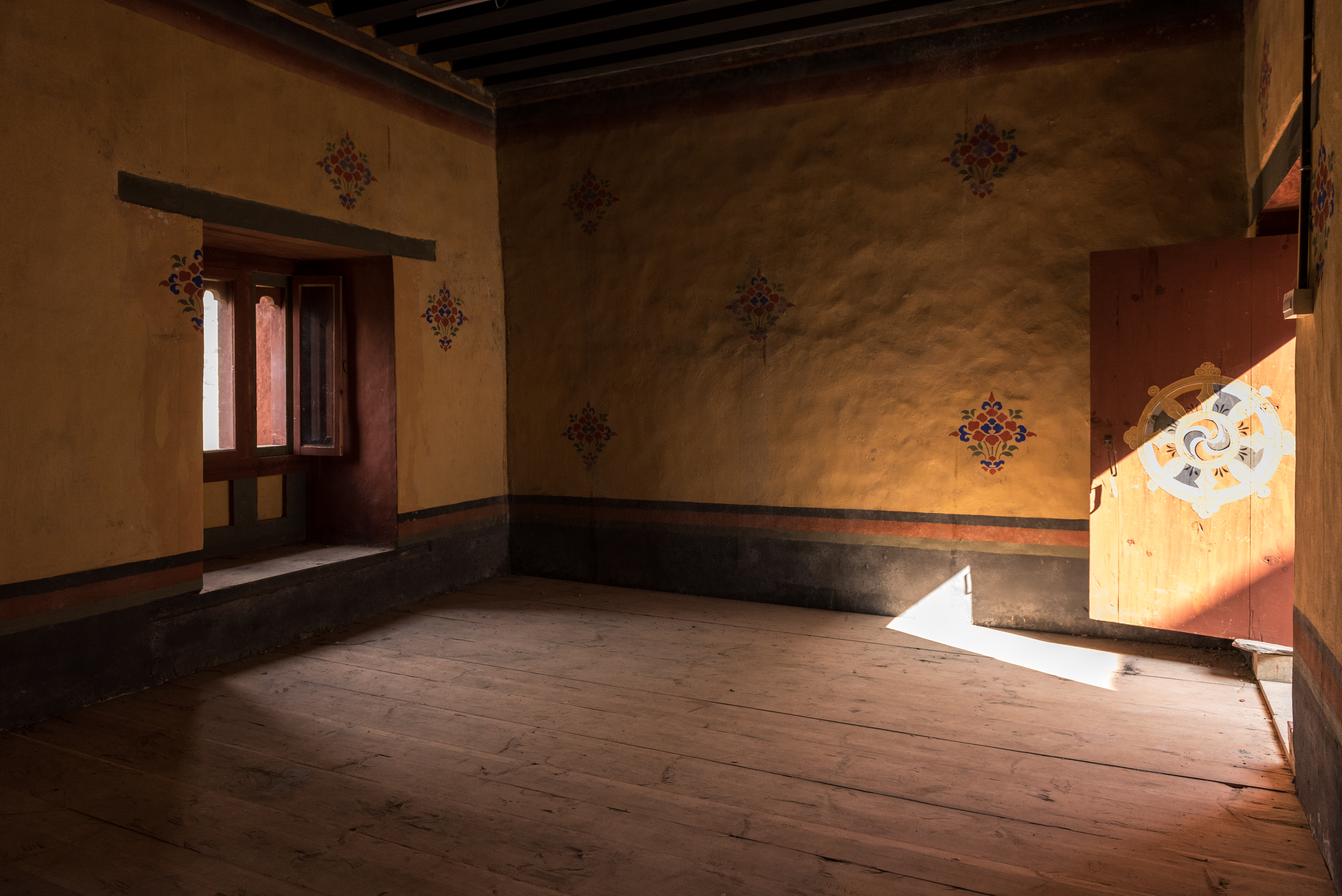 Habitación de un monje en un monasterio