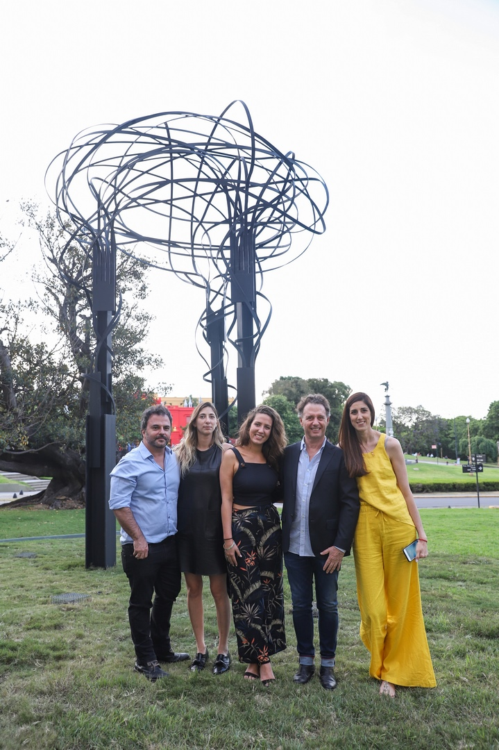 Diego Radivoy, Ernestina Falabella, Victoria D'Amuri Angeloz, Pablo Reinoso y Victoria Hassan