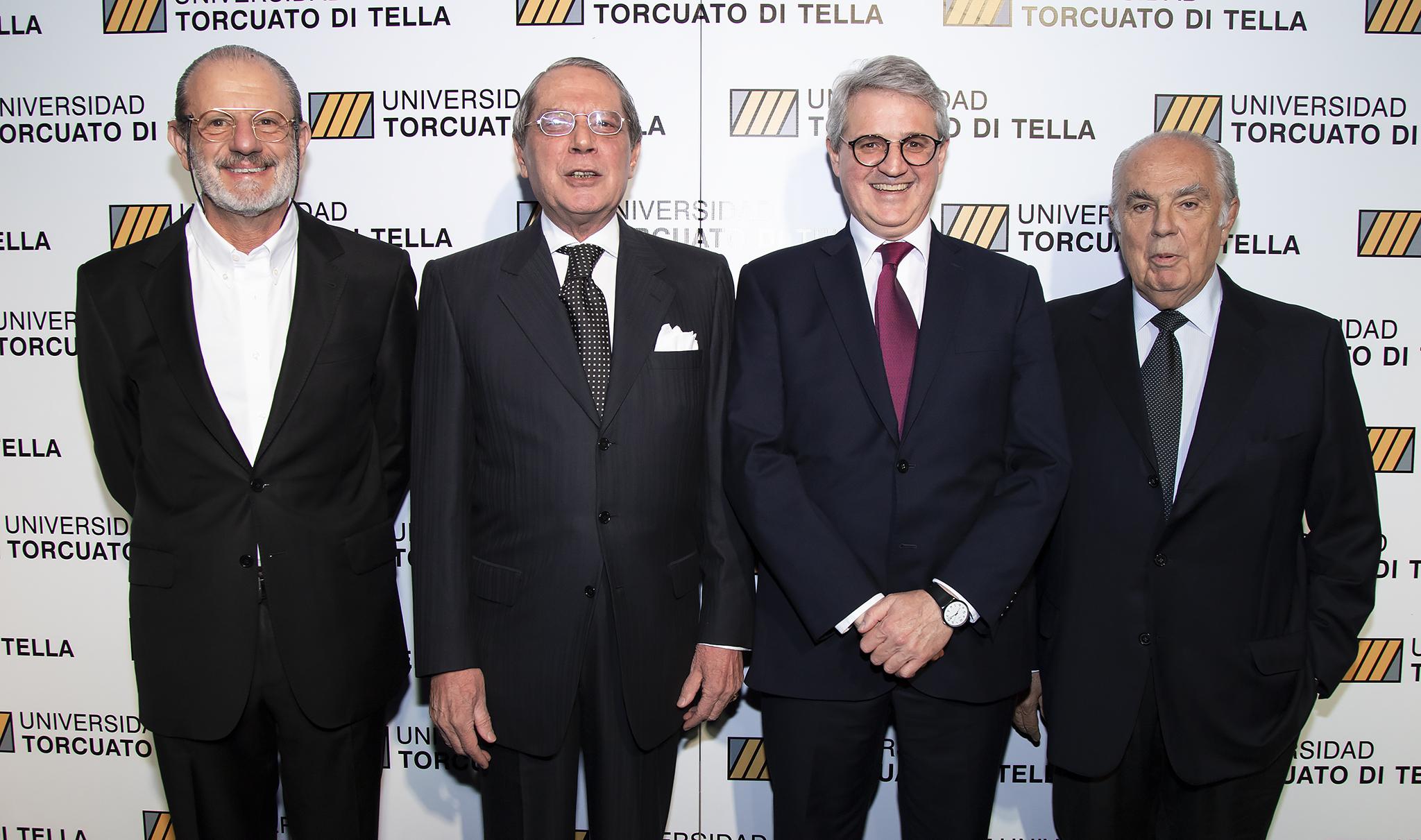 Roberto Vivo, Sergio Quattrini, Juan José Cruces y Juan Cambiaso