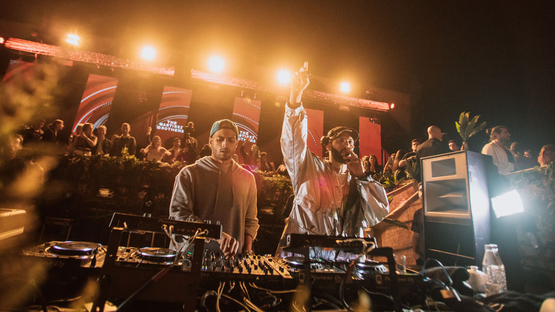 The Martínez Brothers, residentes de los clubes Circoloco Ibiza (DC 10) y Fabric Londres, recorrieron el mundo con su espectáculo y realizaron presentaciones en los mejores clubes y festivales, en conjunto con marcas como DKNY, Givenchy, Carolina Herrera, entre otras