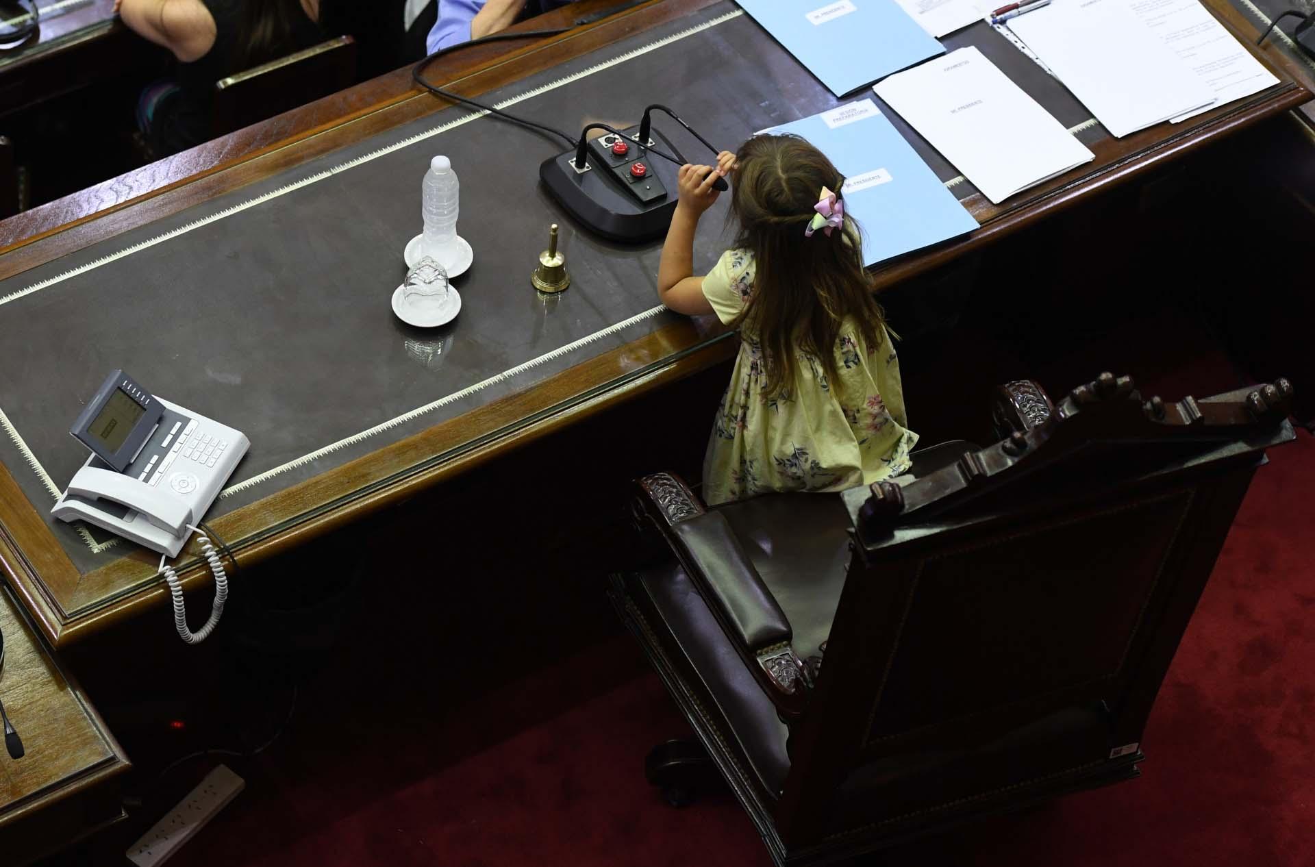 Los familiares de los diputados electos se sumaron a la sesión preparatoria