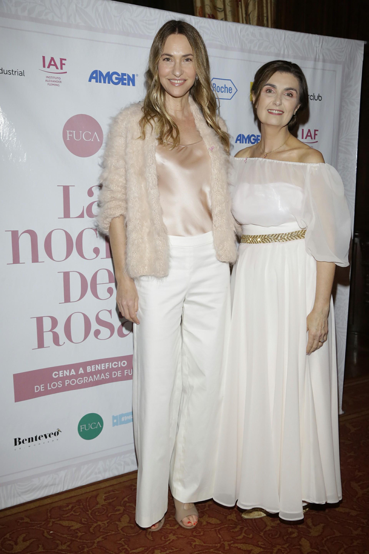 Andrea Bursten y Gabriela Berta, directora ejecutiva de FUCA