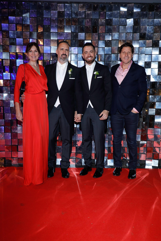 Andrea Frigerio y su marido Lucas Bochino