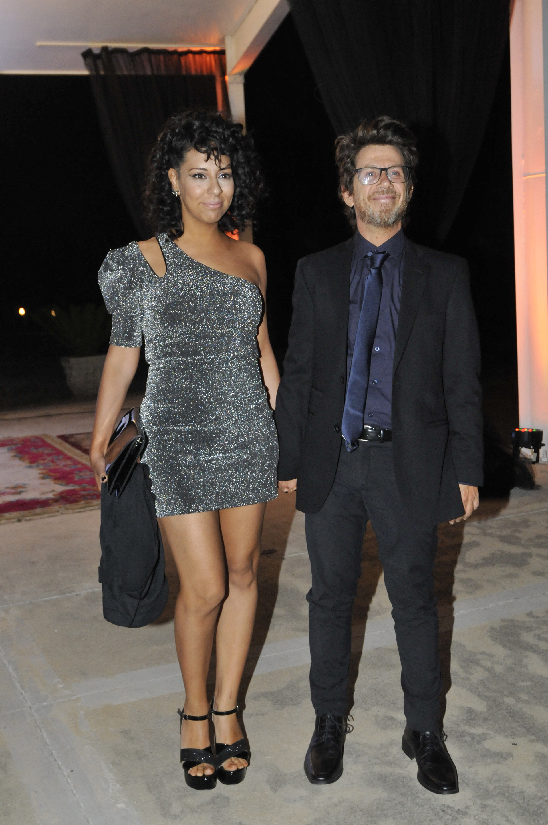 Peto Menahem y su pareja