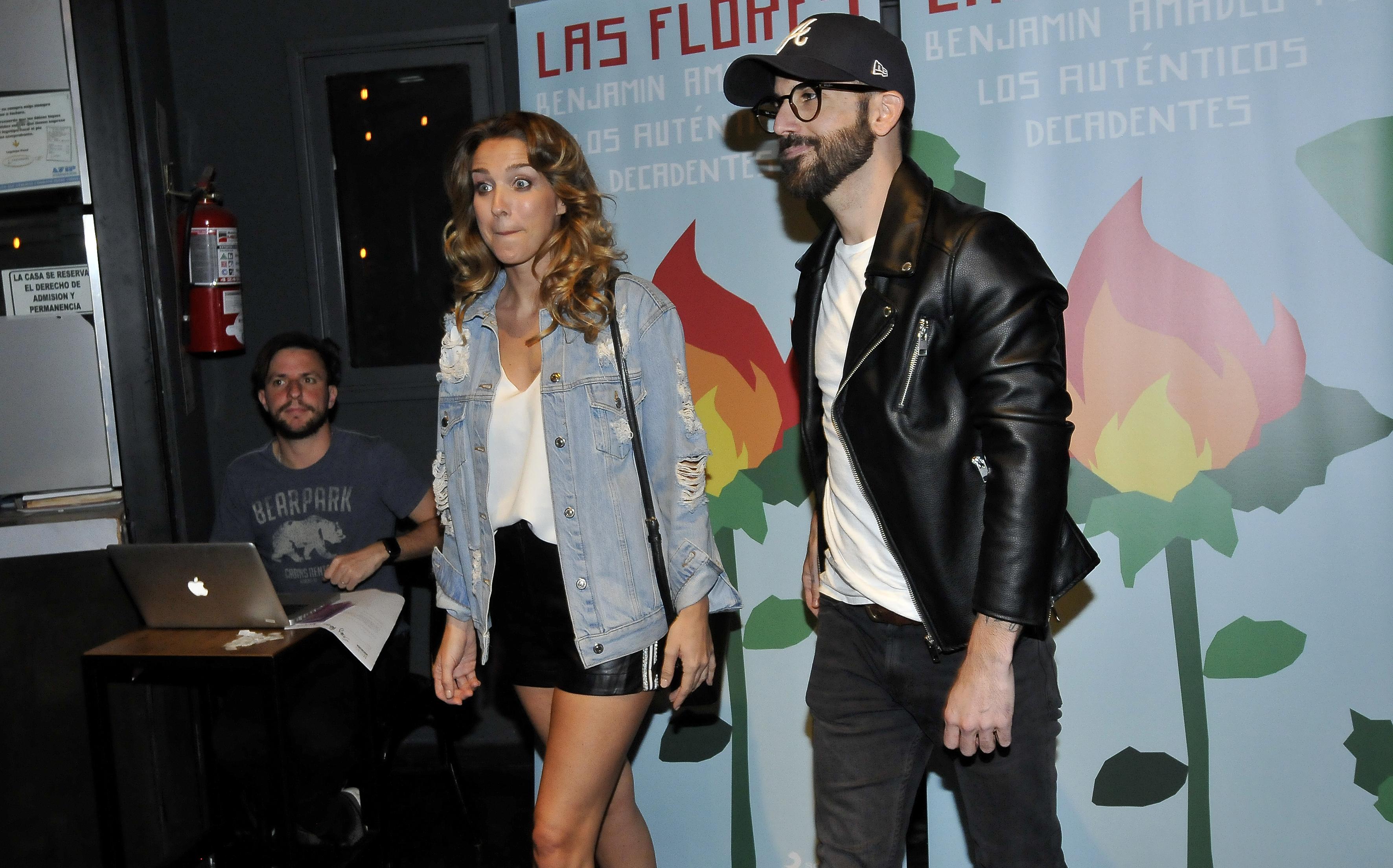 Soledad Fandiño y su novio, Nacho Lecouna