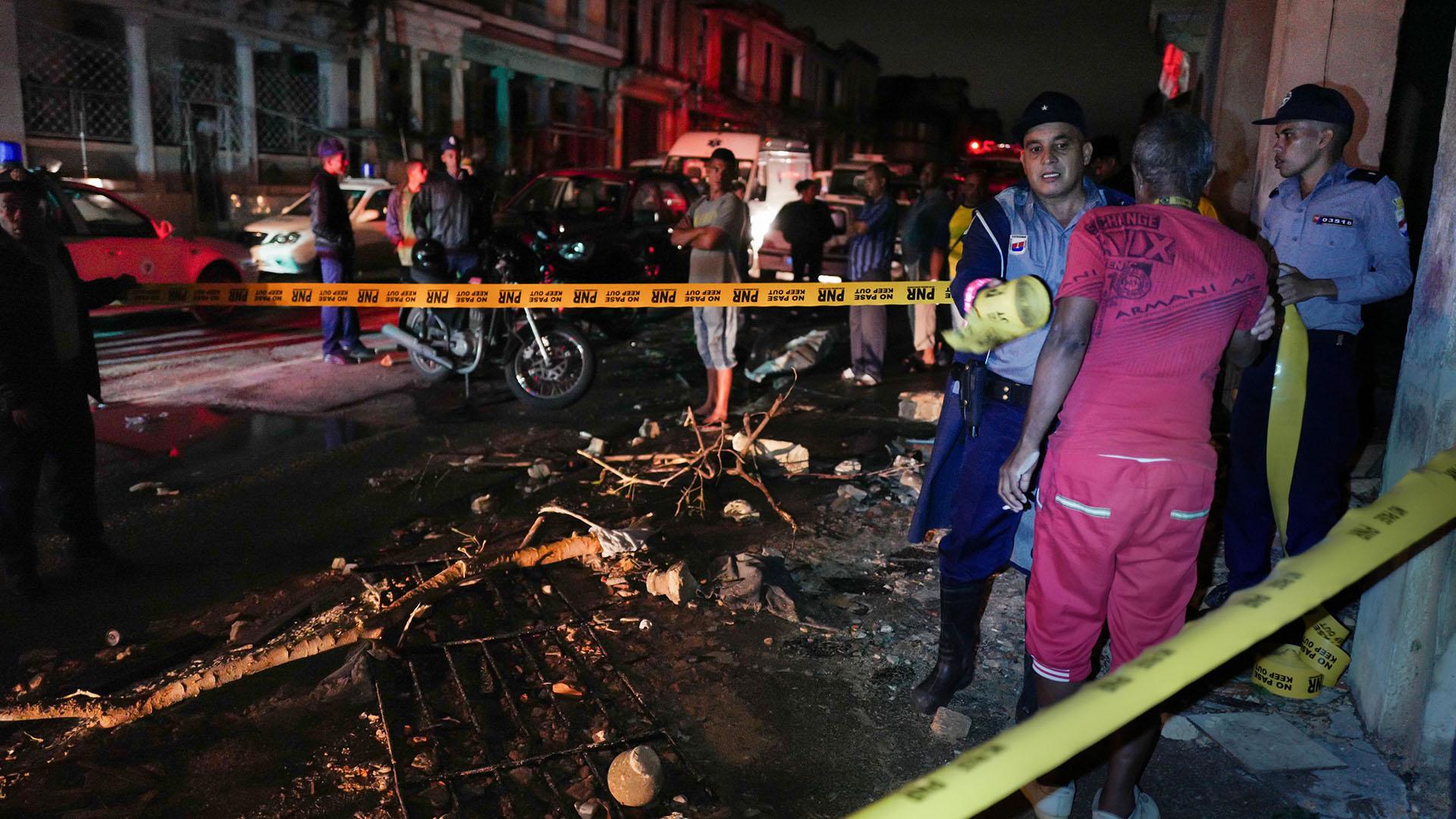 El fenómeno impactó en varios barrio de La Habana (AFP)