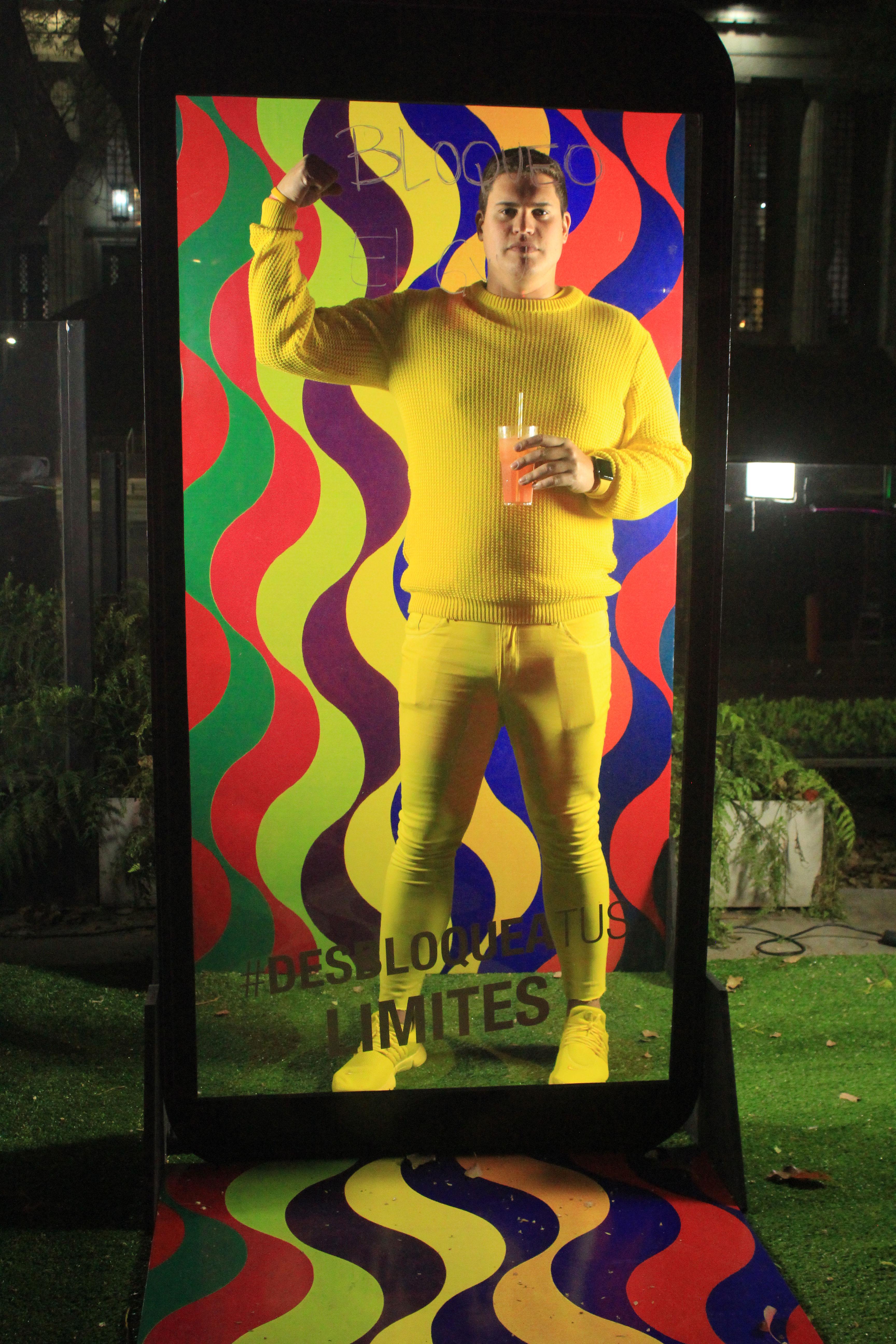 El dress code inspirado en los colores del gran artista argentino, Julio Le Parc