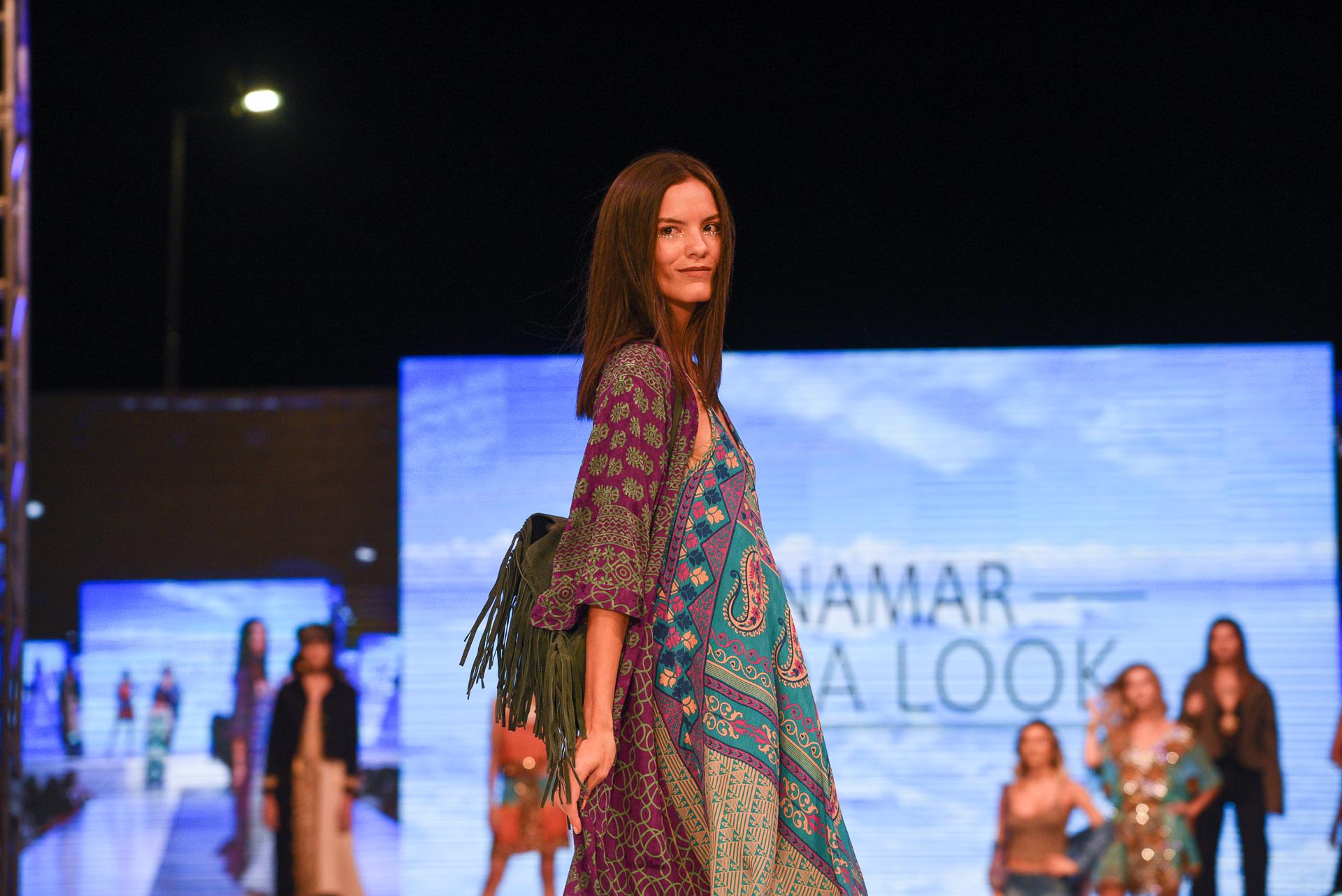 La propuesta de la firma Rosarito, colección de tejidos, estilo indie, con un espíritu bohemio pero siguiendo las tendencias actuales