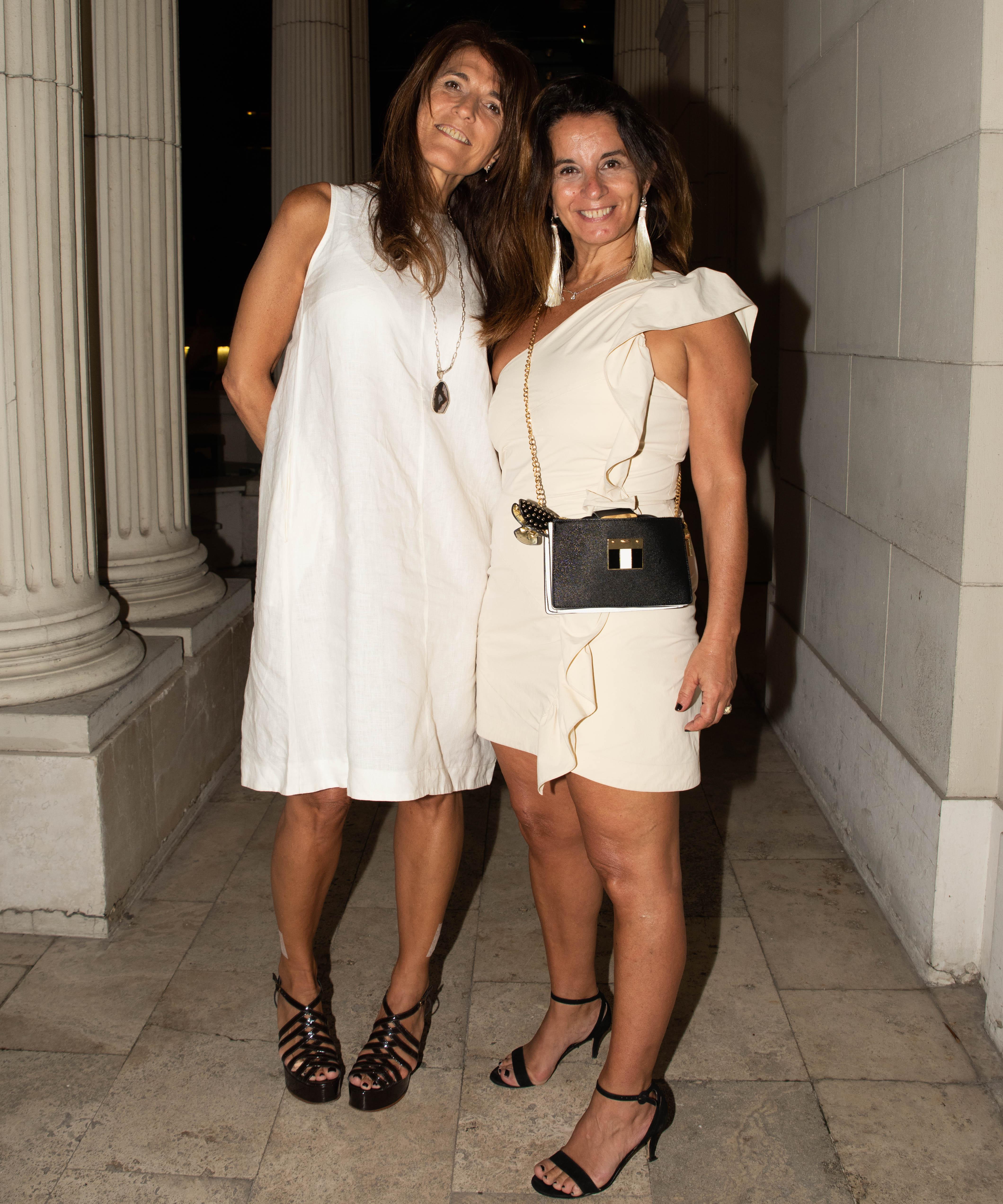 Verónica Martínez Castro y Paula Comparatore