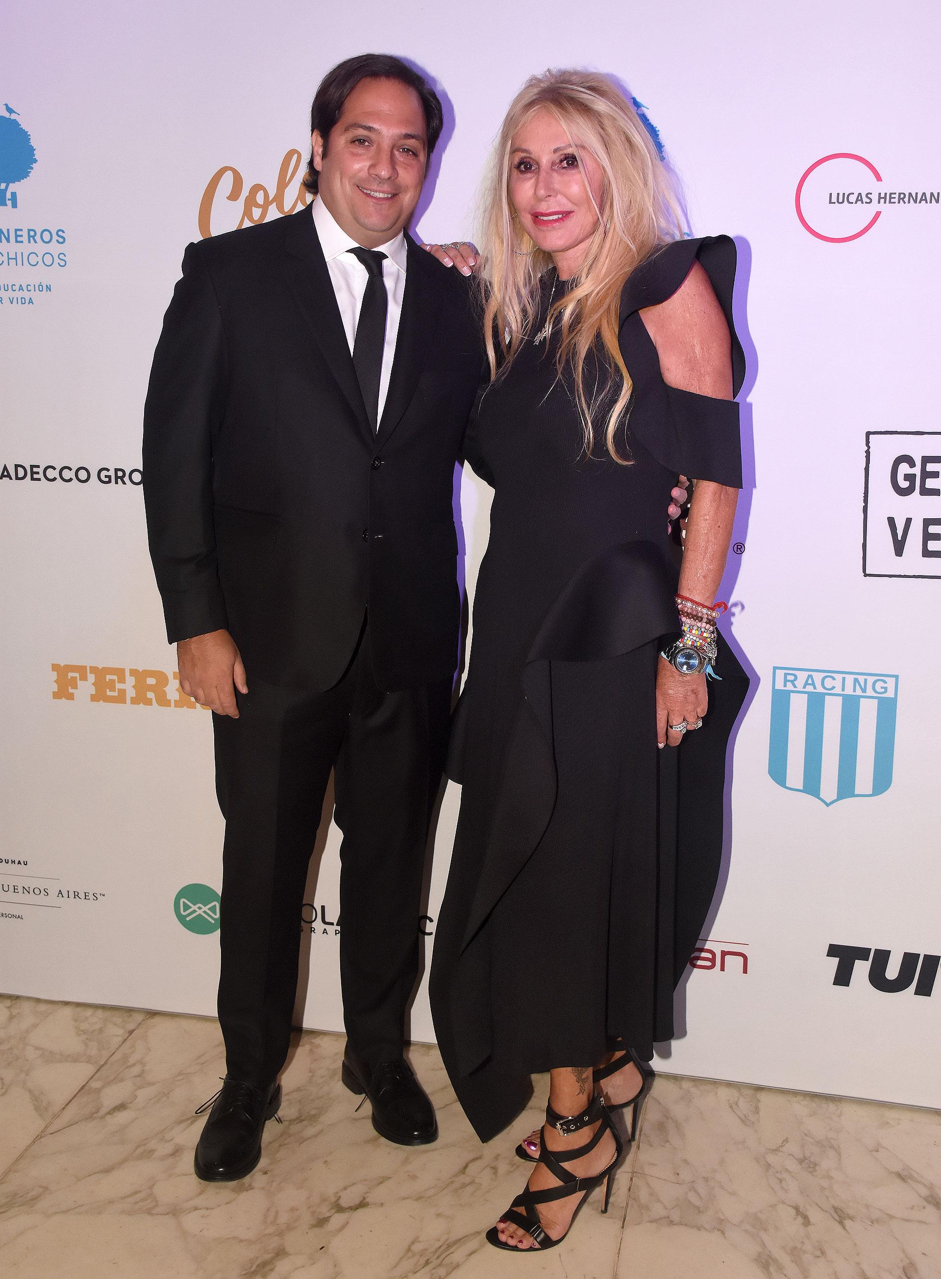 Renata Jacobs junto a Matías Barreiro, presidente de FUSADE (Fundación Salud, Educación y Deporte), y director del Sanatorio Colegiales