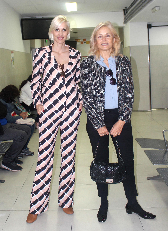 Ingrid Grudke y Cecilia Zuberbuhler