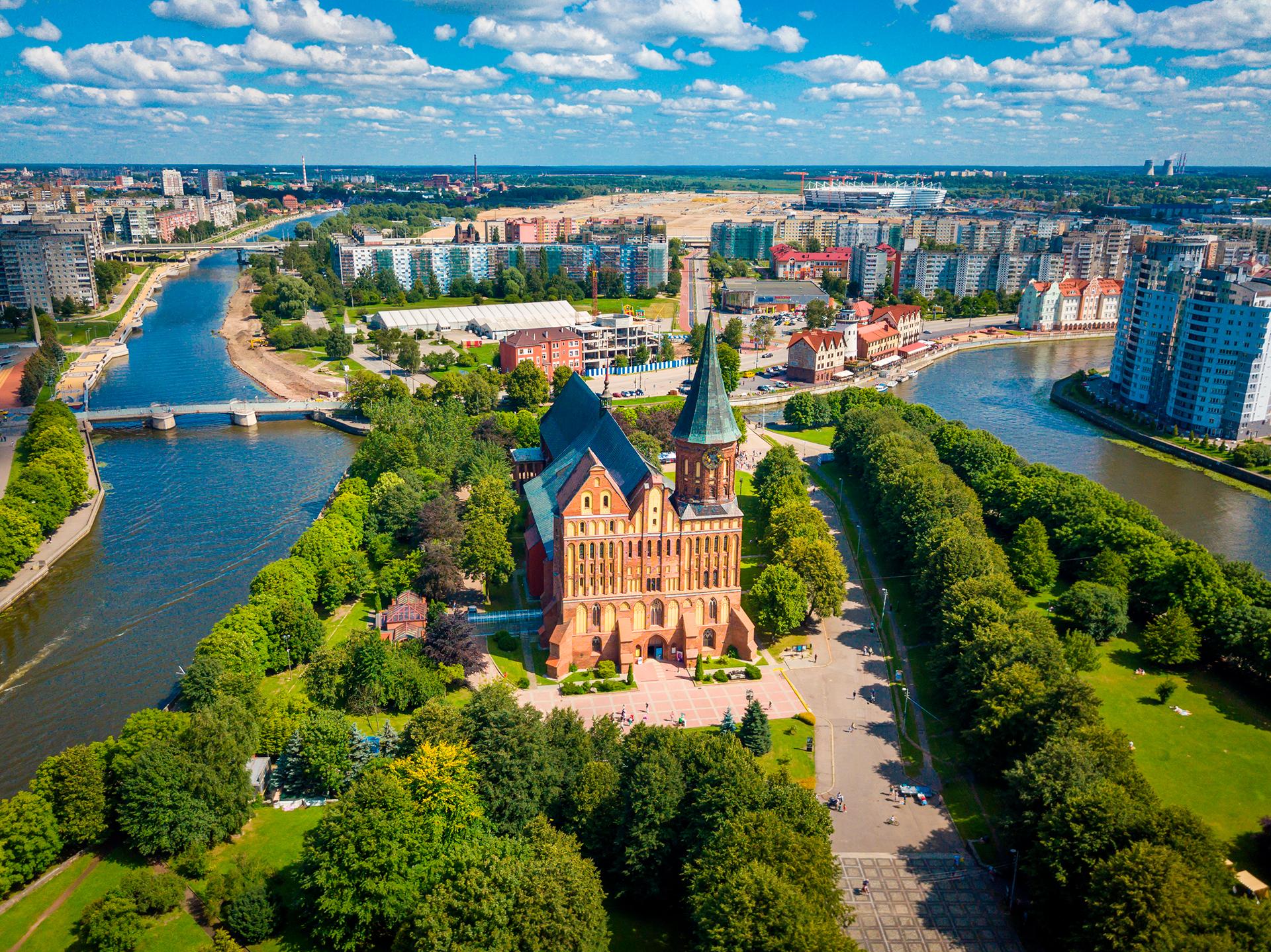La ciudad rusa que está a 600 kilómetros de Rusia fue alemana durante siglos y está ubicada en medio del territorio de Polonia. Pero tras la Segunda Guerra Mundial fue entregada como un exclave de la Unión Soviética